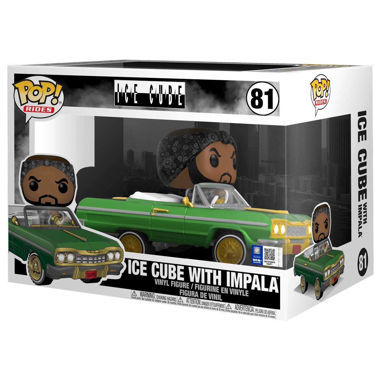 Ice Cube with Impala (81) Pop Vinyl Rides - 2