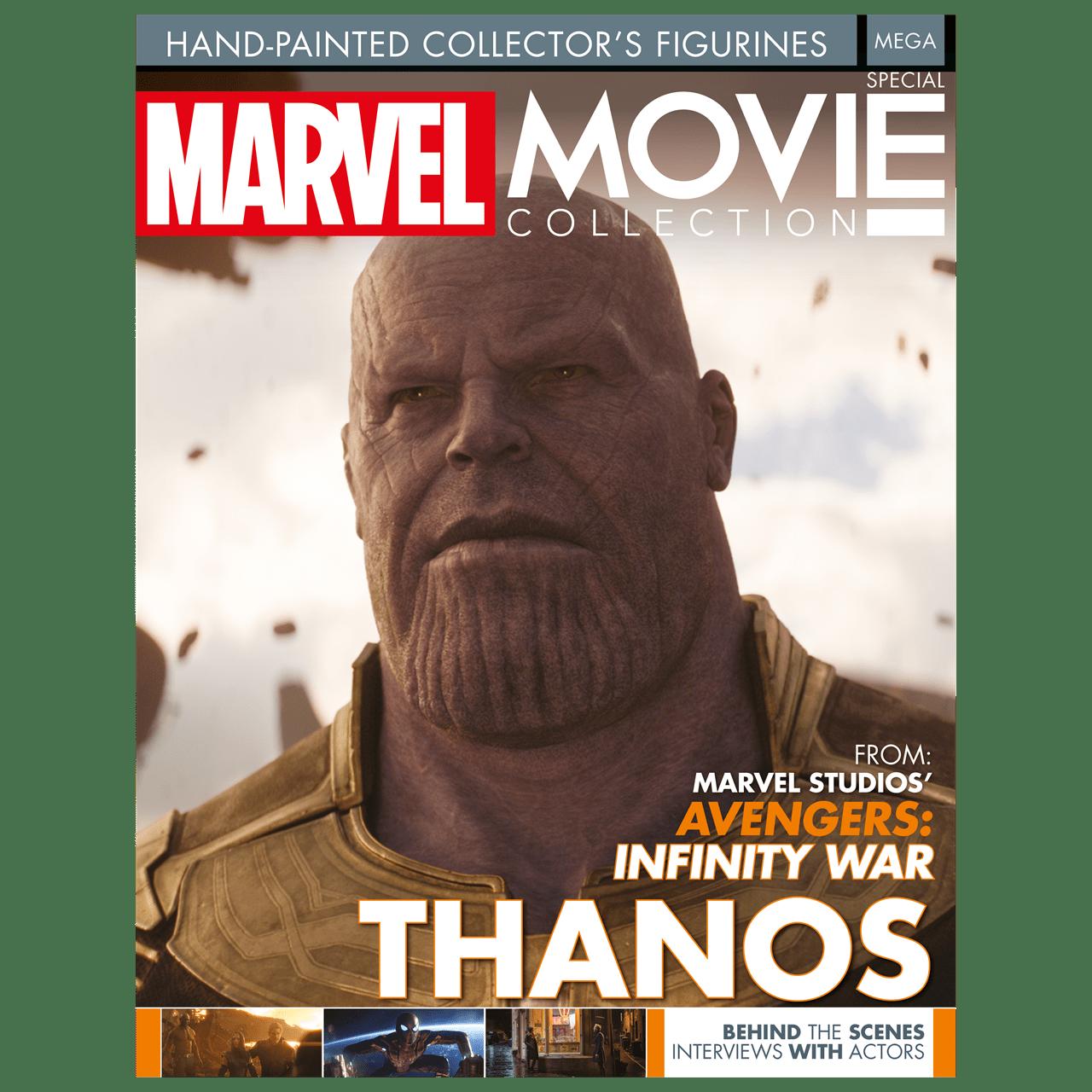 Thanos: Marvel Mega Figurine: Hero Collector - 5