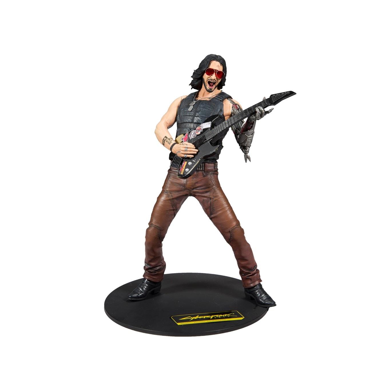 Cyberpunk 2077: Johnny Silverhand (Chrome Rock) Figurine - 1