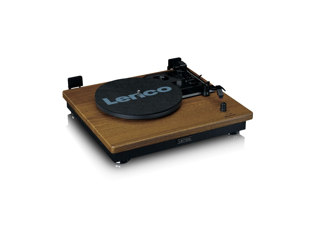 Lenco LS100 Wood Turntable & Speakers - 5