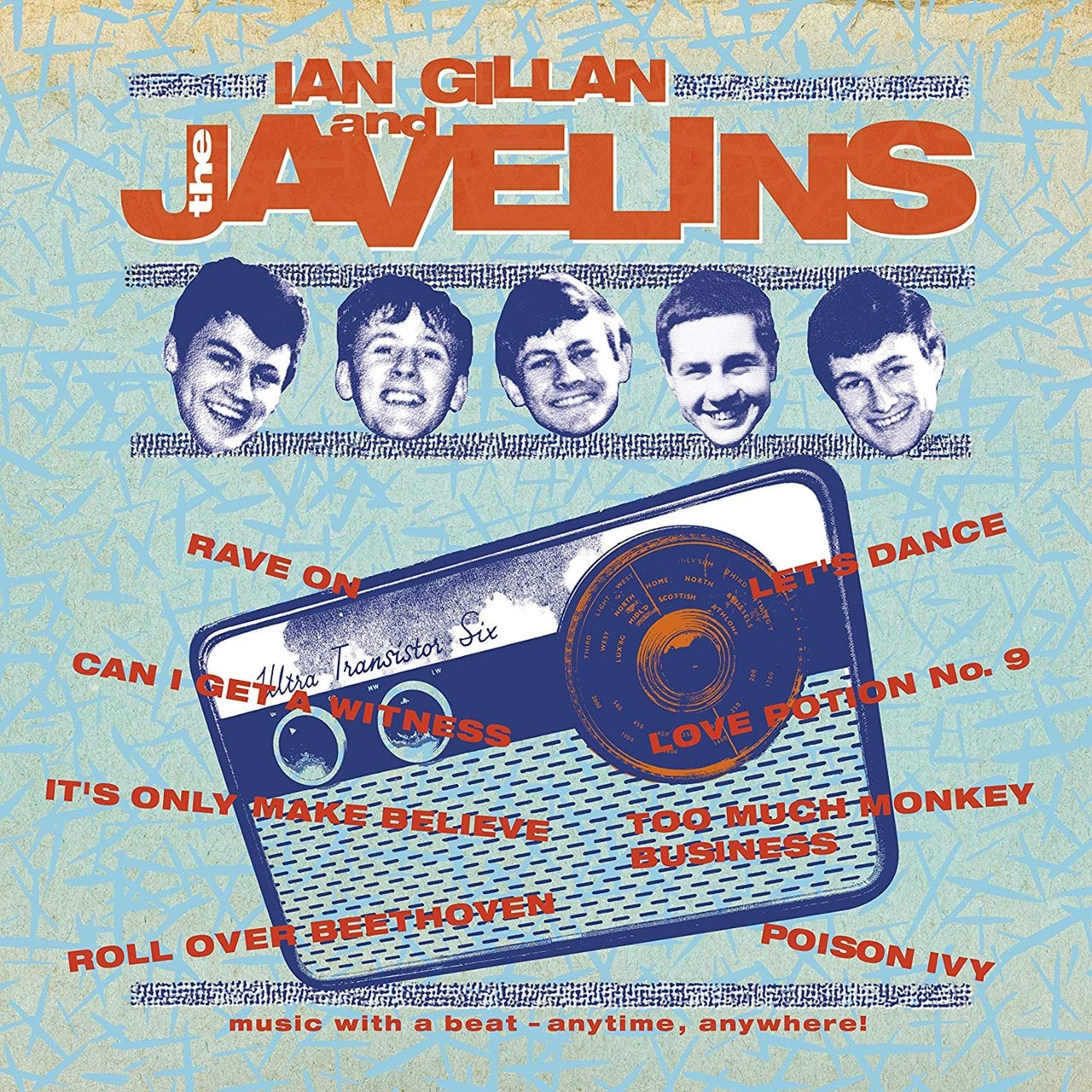 Raving With Ian Gillan & the Javelins - 1