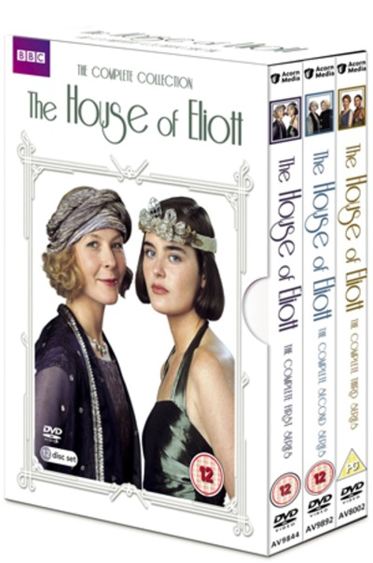 The House Of Eliott Complete Collection Dvd Box Set Free Shipping Over 20 Hmv Store