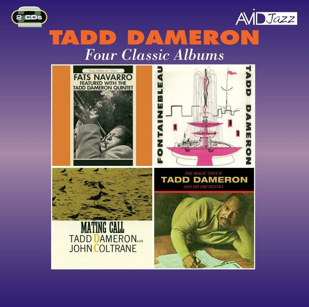 Four Classic Albums: Fats Navarro Featured/Fontainebleau/Mating Call/The Magic Touch - 1