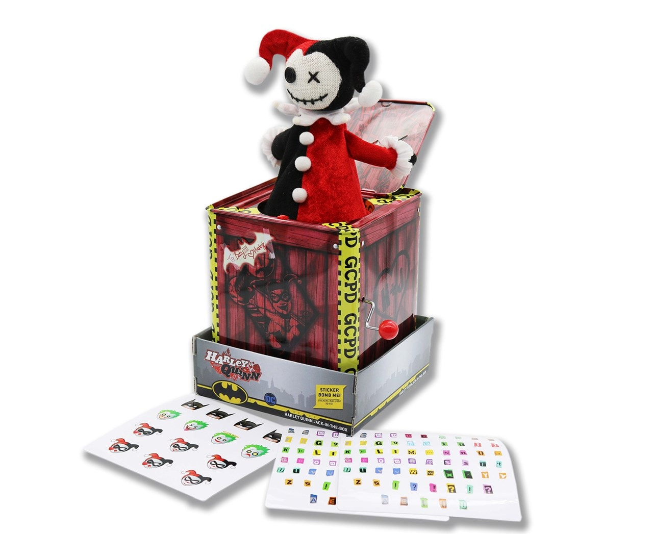 Harley Quinn: Jack-In-The-Box Collectible - 1