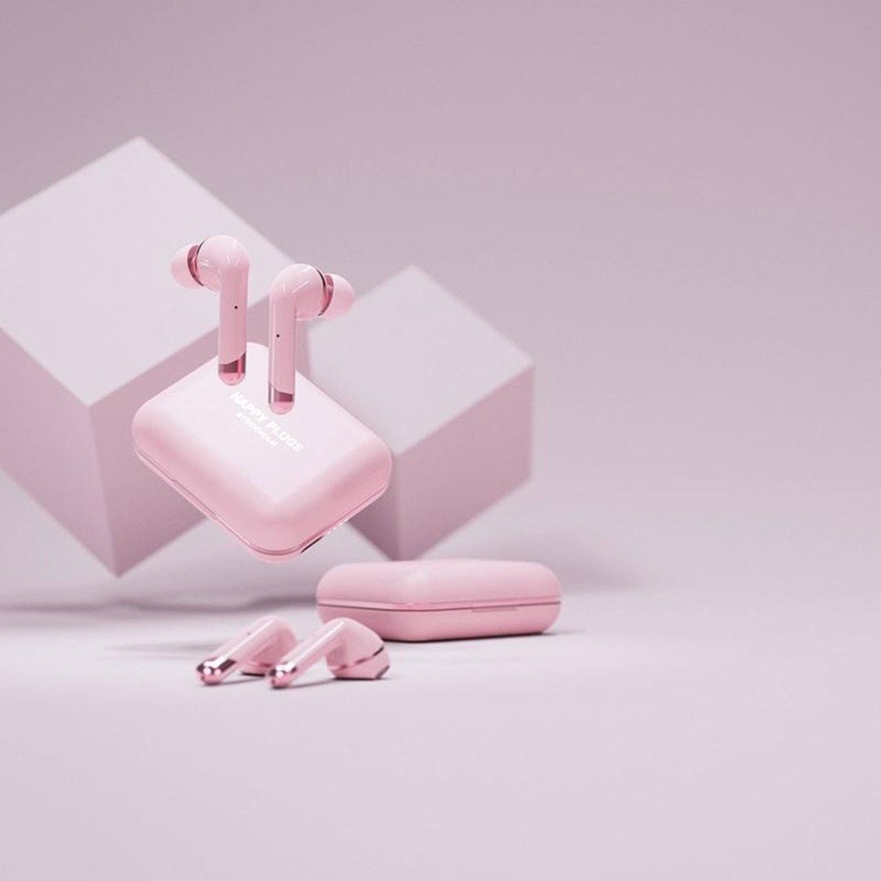 Happy Plugs Air1 Plus Pink Gold In Ear True Wireless Bluetooth Earphones - 5