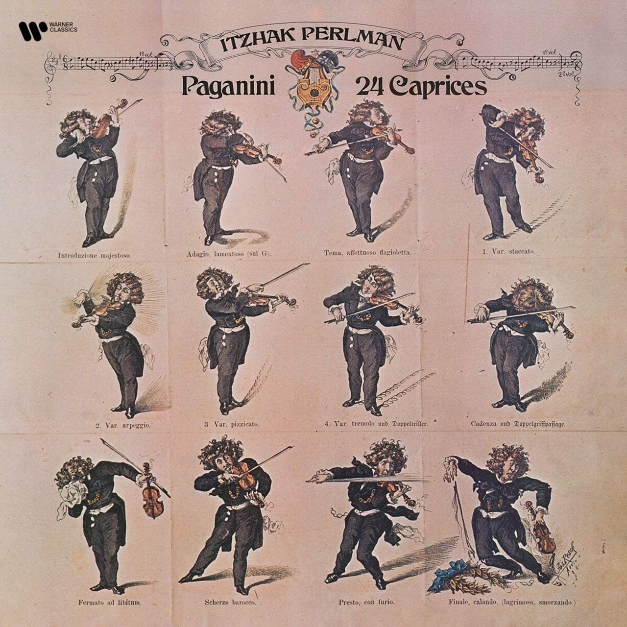 Paganini: 24 Caprices - 1