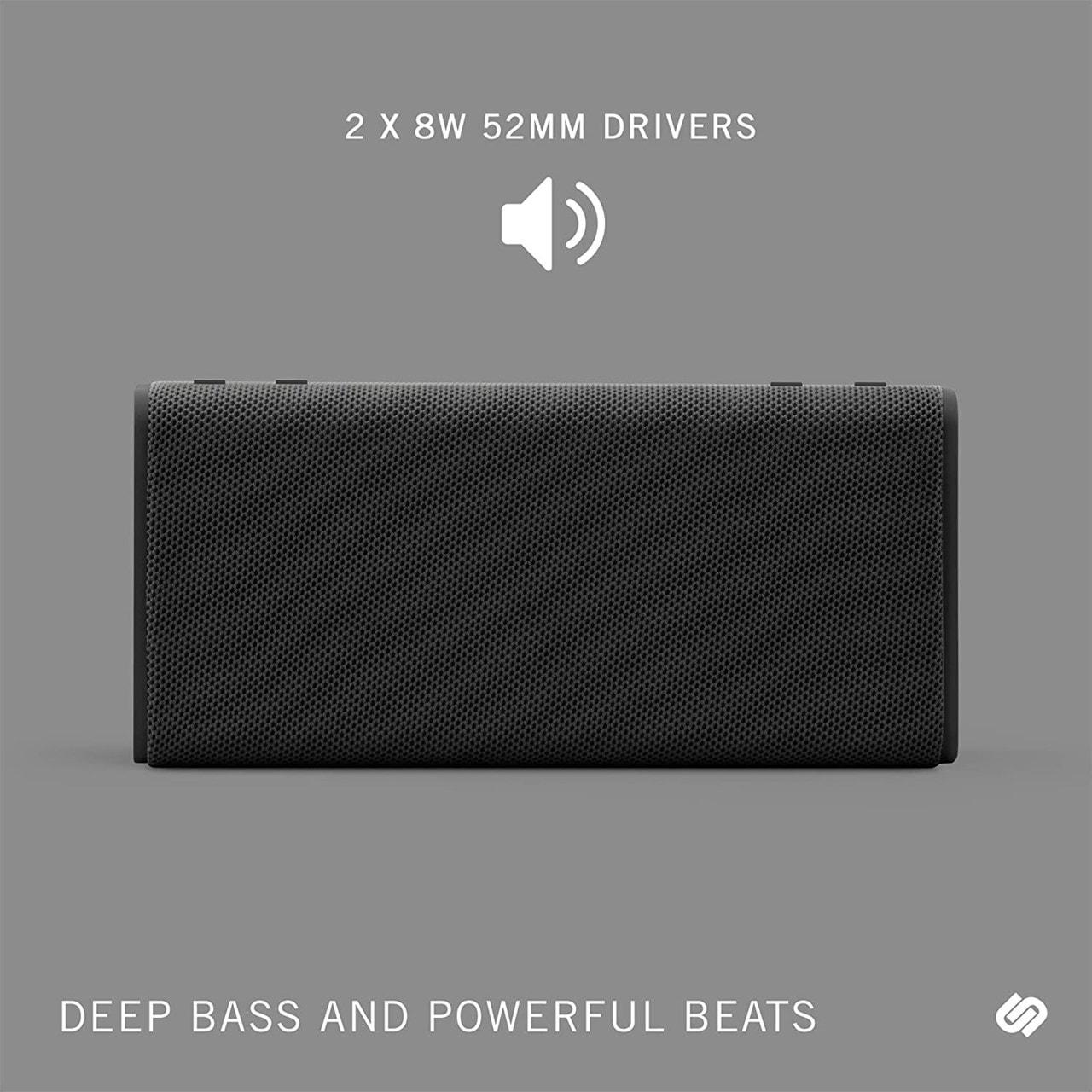 Urbanista Brisbane Midnight Black Bluetooth Speaker - 4