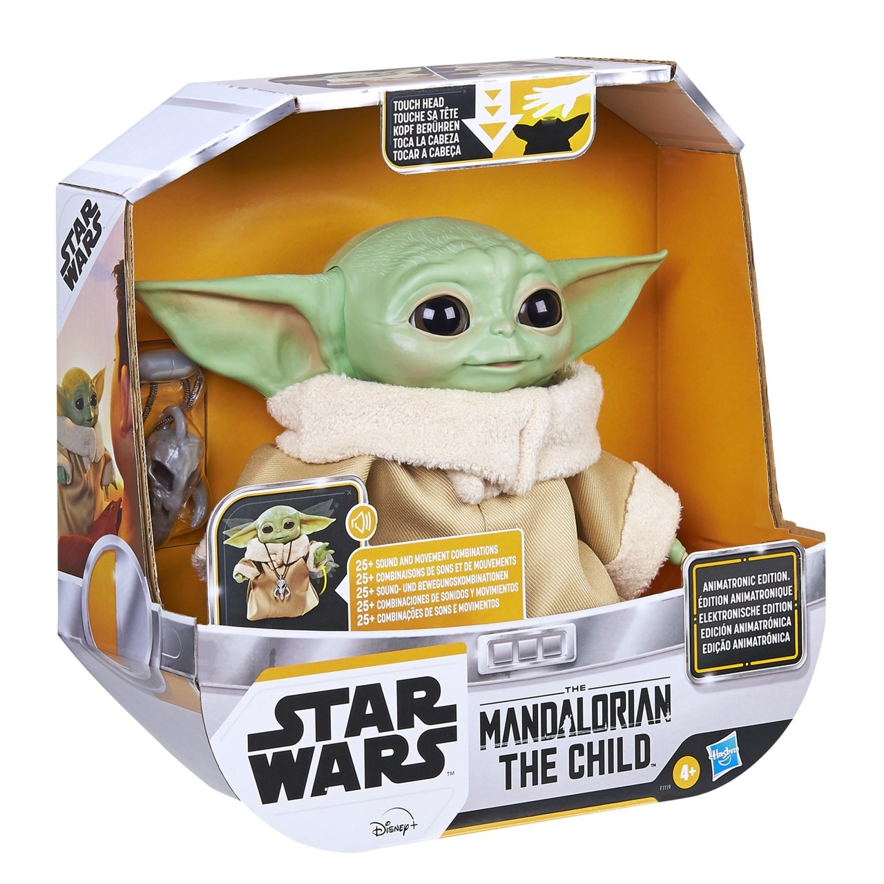 Star Wars: The Child (Baby Yoda) Animatronic Toy - 4