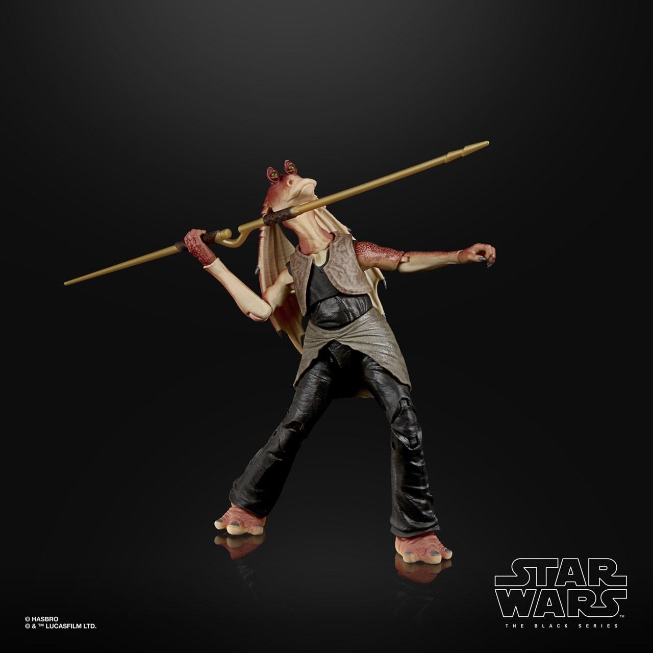 Jar Jar Binks: Deluxe: The Black Series: Star Wars Action Figure - 3