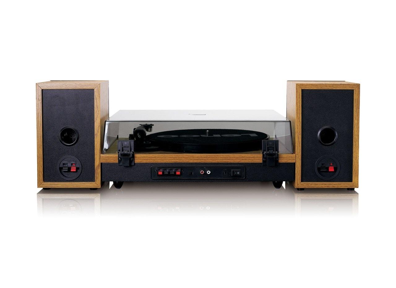 Lenco LS-300 Wood turntable and Speakers - 5