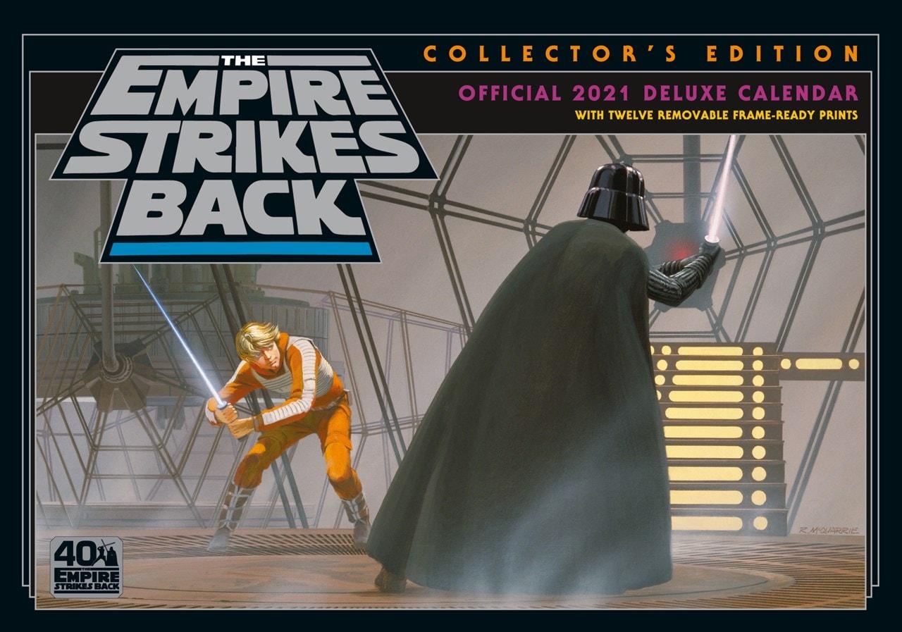 Star Wars Classic: A3 Deluxe 2021 Calendar - 1