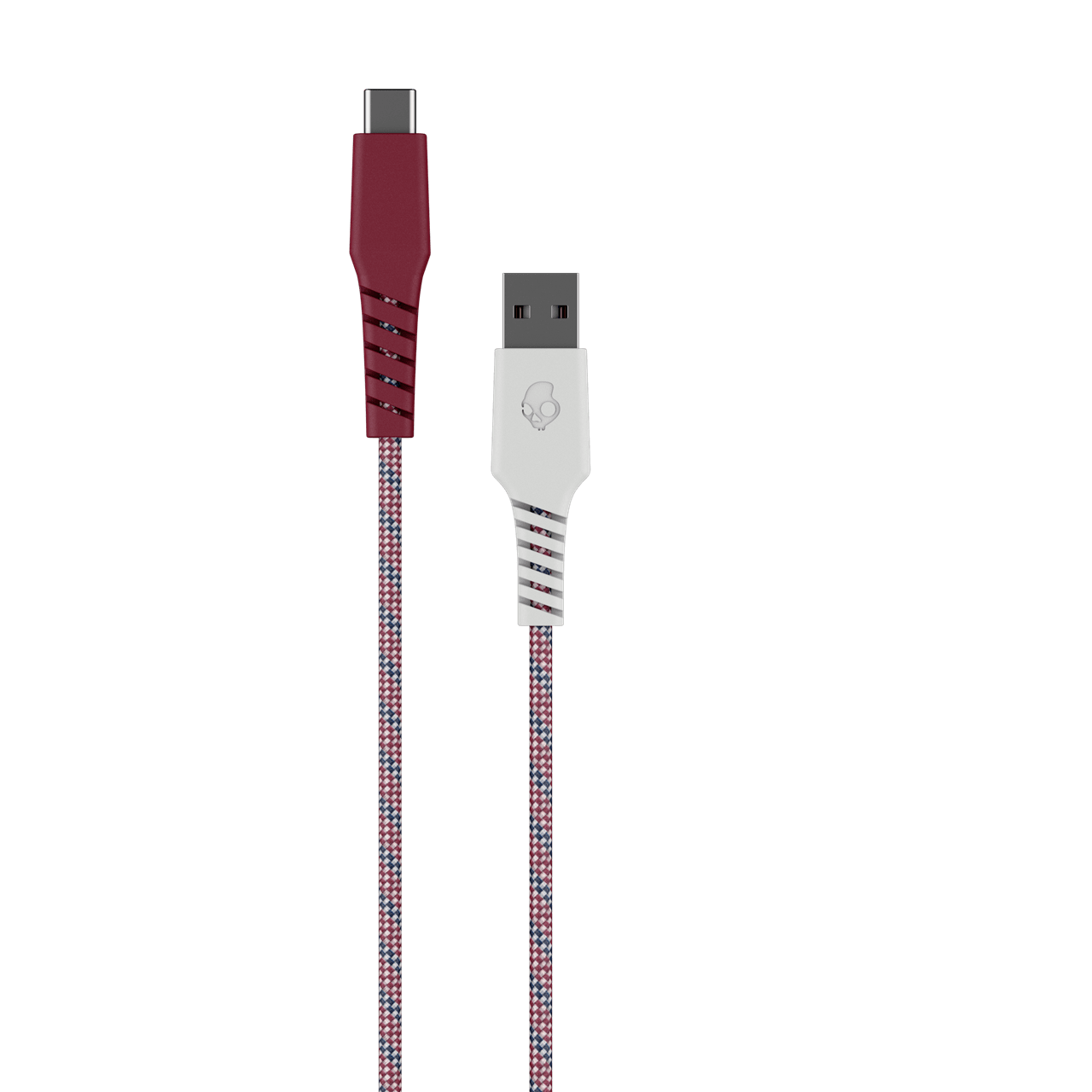 Skullcandy Braided USB-C Vice/Crimson Cable 1.2m - 1