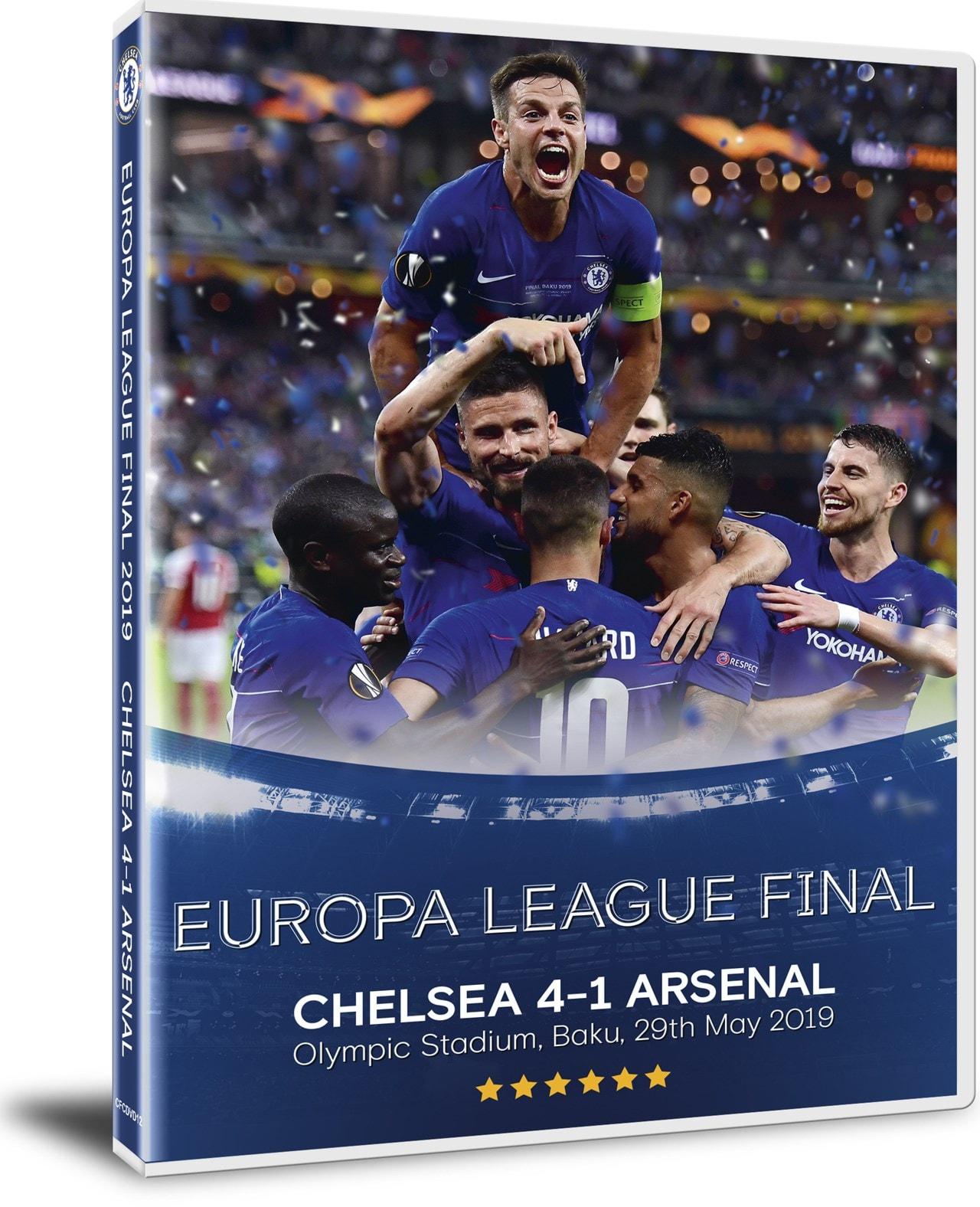 2019 Europa League Final - Chelsea 4 Arsenal 1 - 2