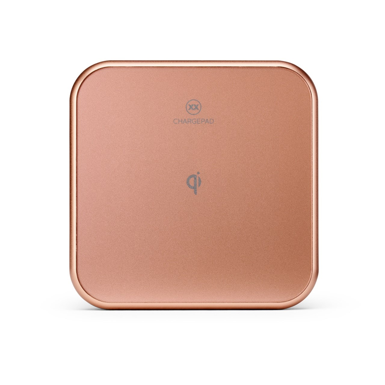 Mixx Charge Chargepad Rose Gold 10W Qi Wireless Charger - 1