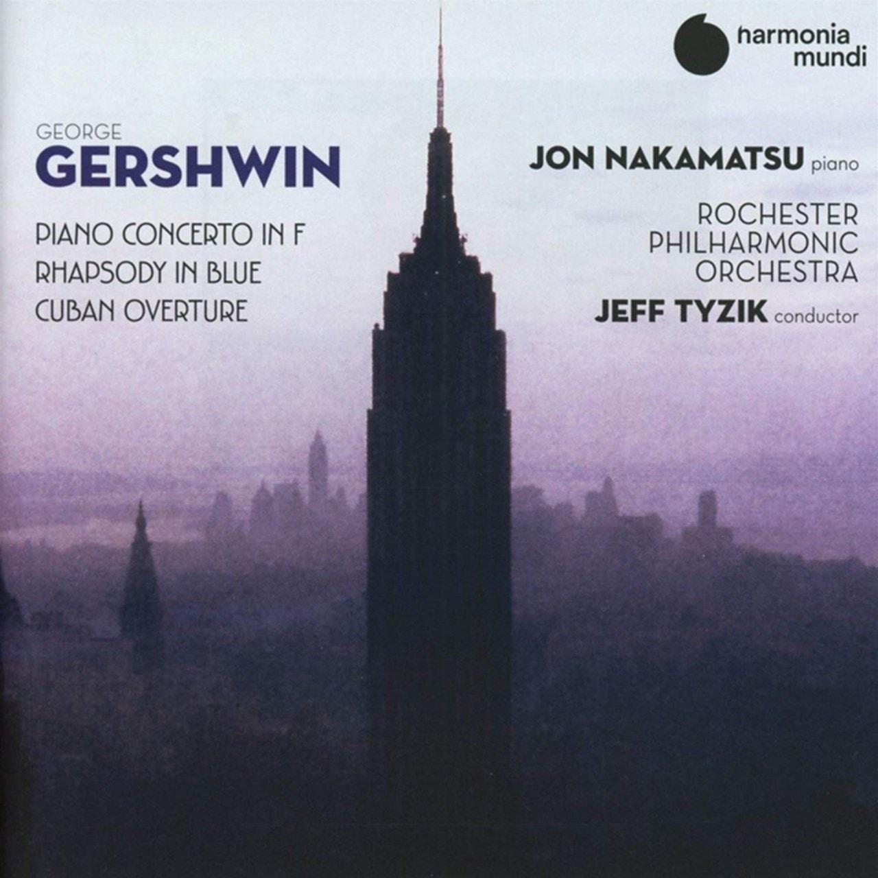George Gershwin: Piano Concerto in F/Rhapsody in Blue/... - 1
