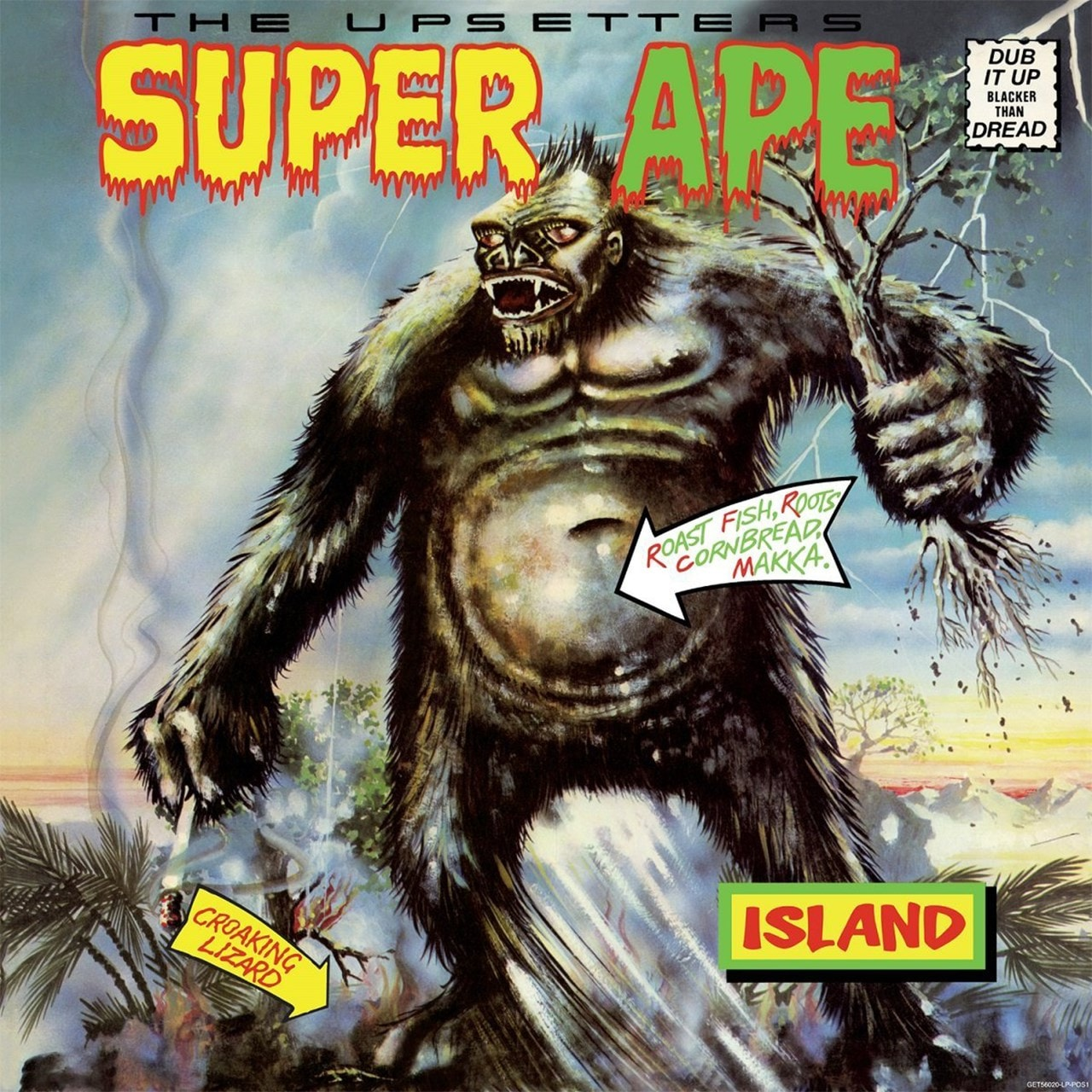 Super Ape: Dub It Up Blacker Than Dread - 1