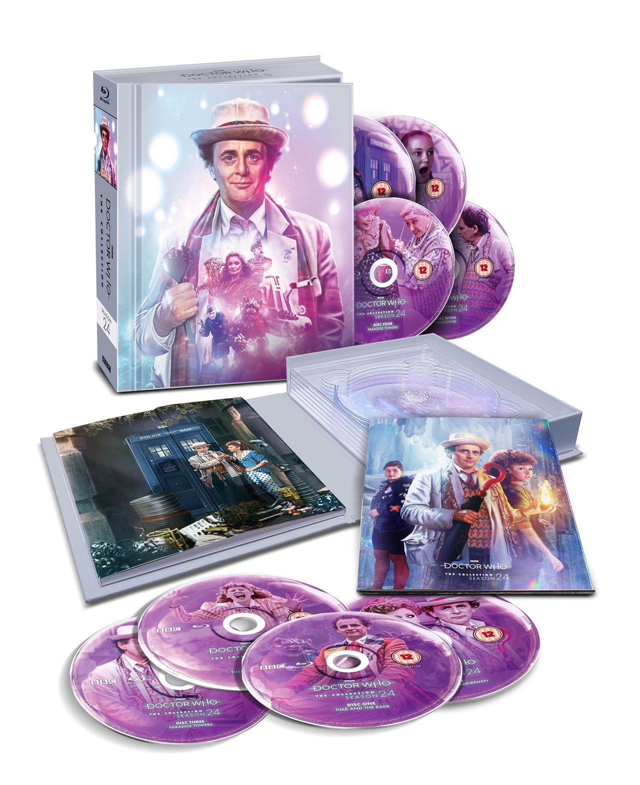 Doctor Who: The Collection - Season 24 Limited Edition Box Set - 1