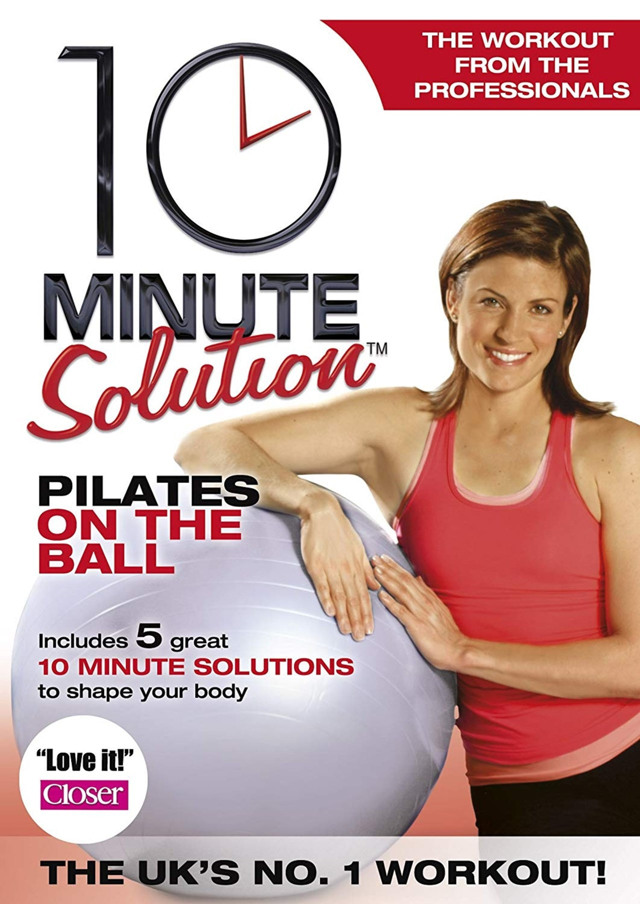10 Minute Solution: Pilates On the Ball - 1