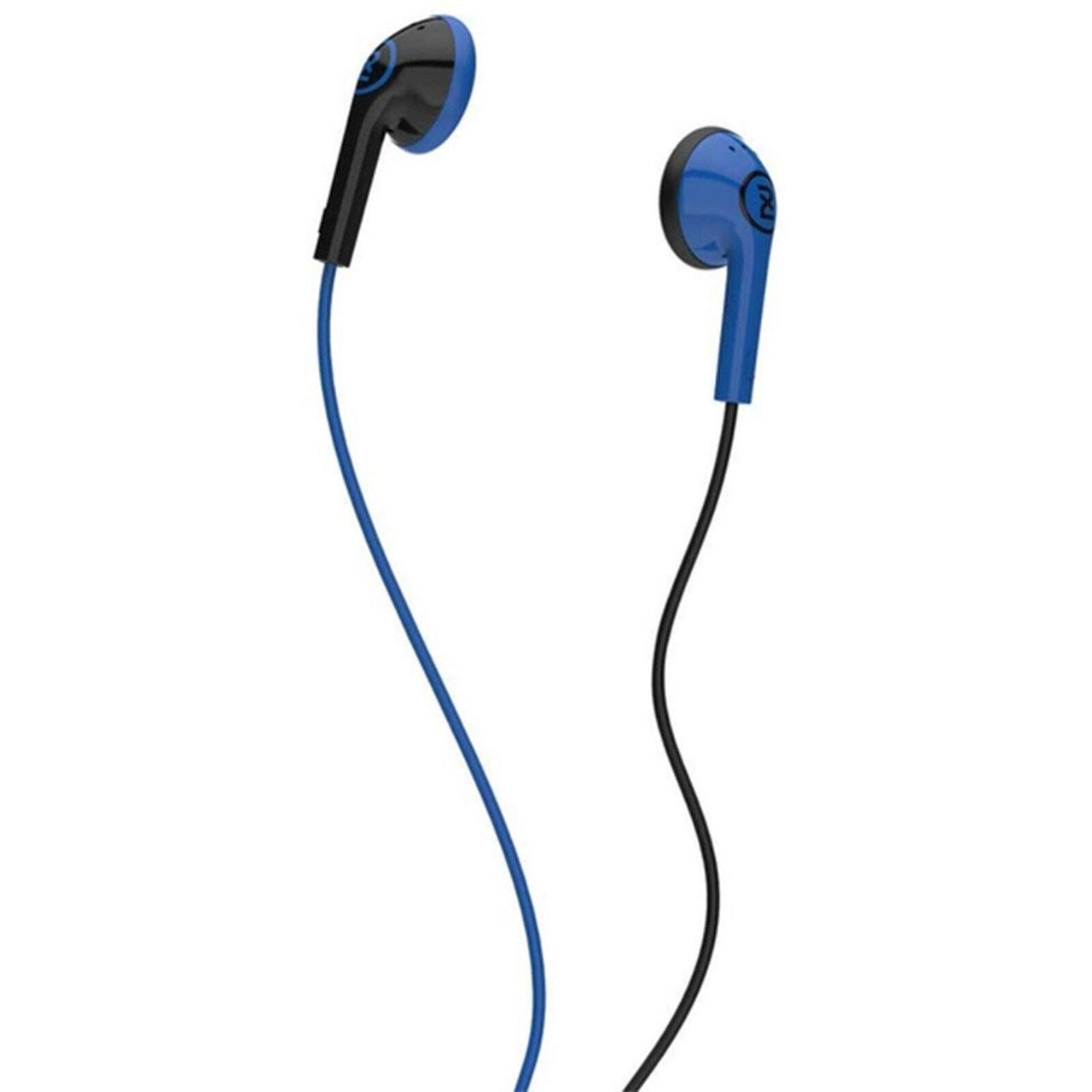 2XL Offset Blue Earphones - 1