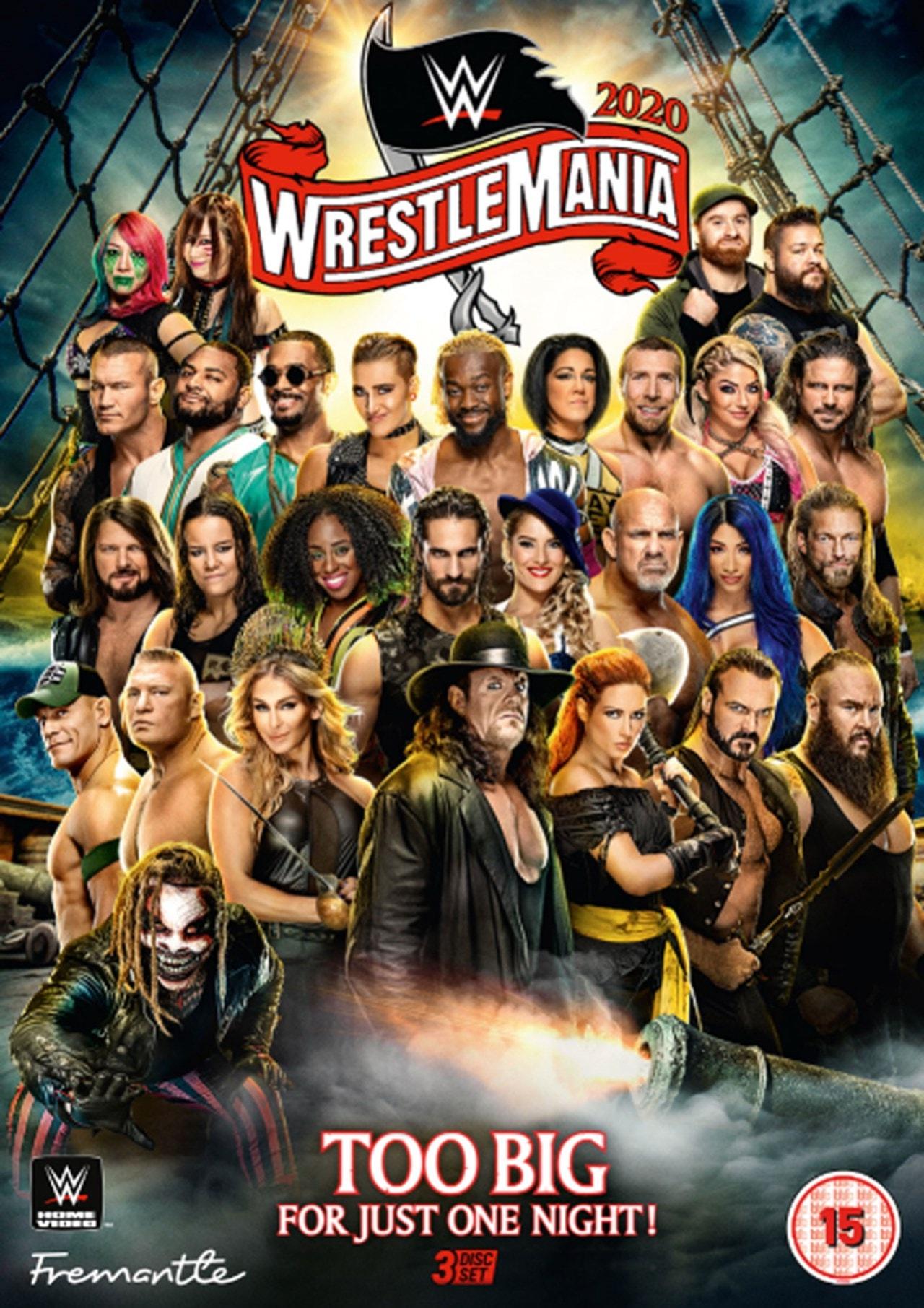 WWE: Wrestlemania 36 - 1