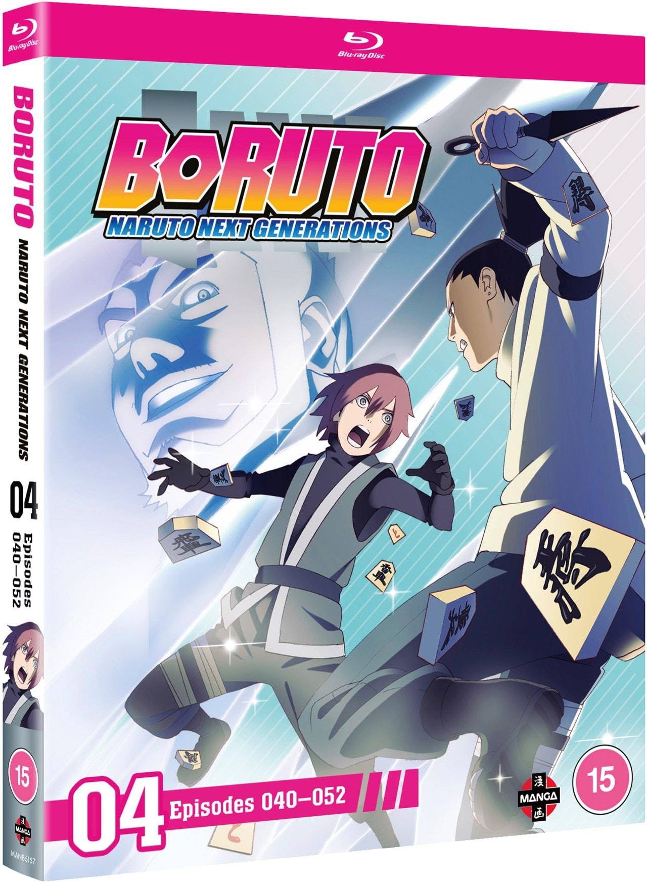 Boruto Naruto Next Generations Set 4 Blu Ray Free Shipping Over 20 Hmv Store