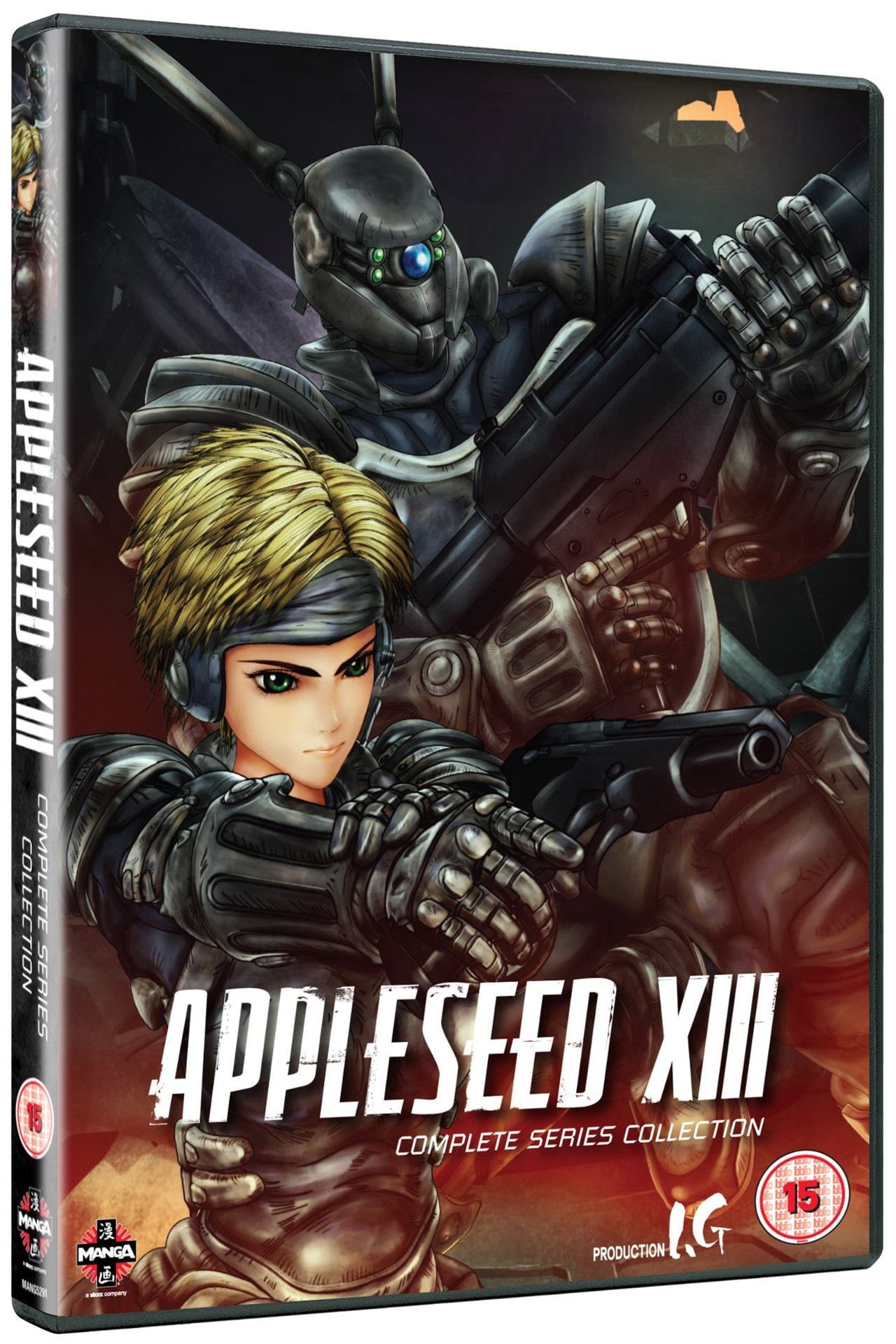 Appleseed XIII: Complete Series Collection - 2