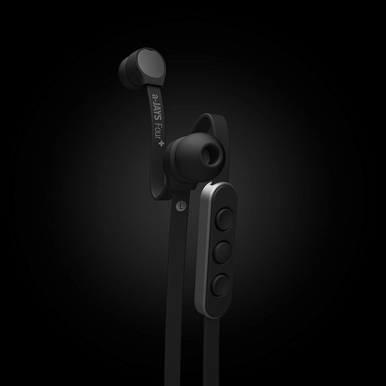 Jays A-Jays Four+ Android Black/Silver Earphones - 2