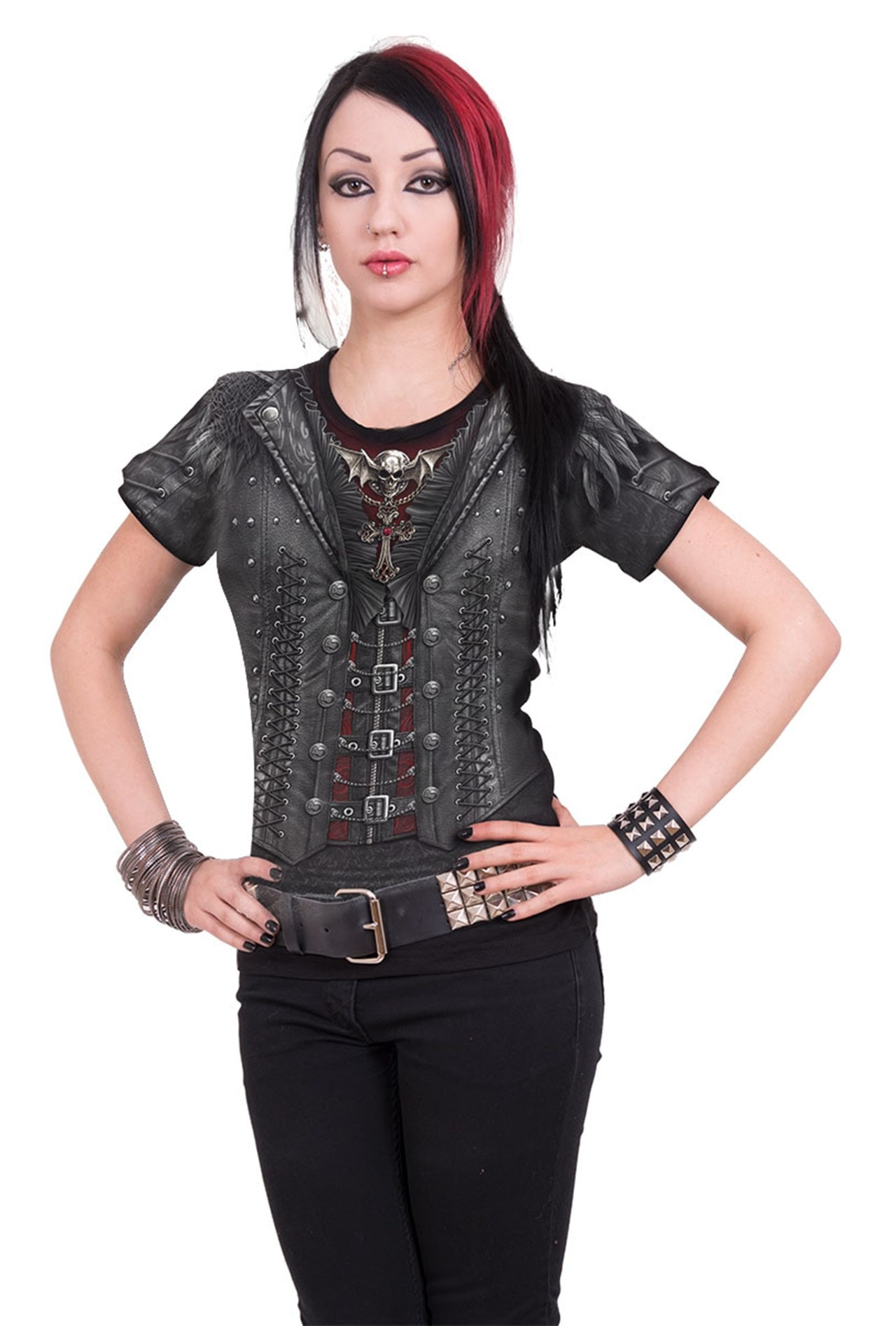 Spiral: Gothess: Ladies Fit Tee (Extra Large) - 3