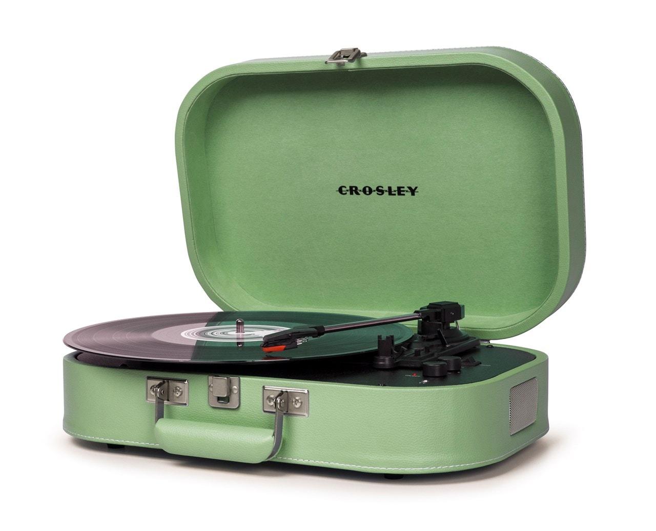 Crosley Discovery Seafoam Green Turntable - 2