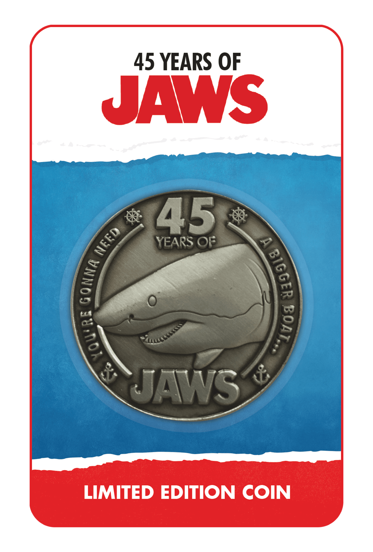 Jaws: 45th Anniversary Coin - 3