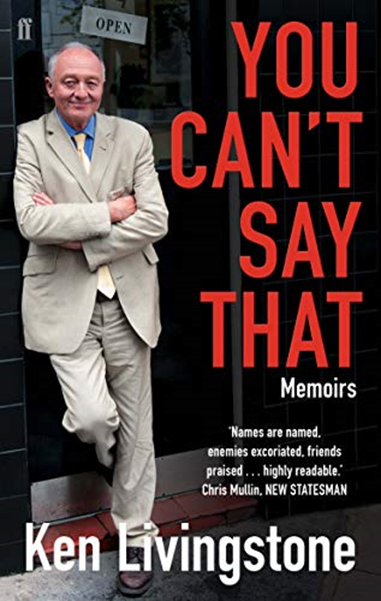 You Cant Say That: Memoirs - 1