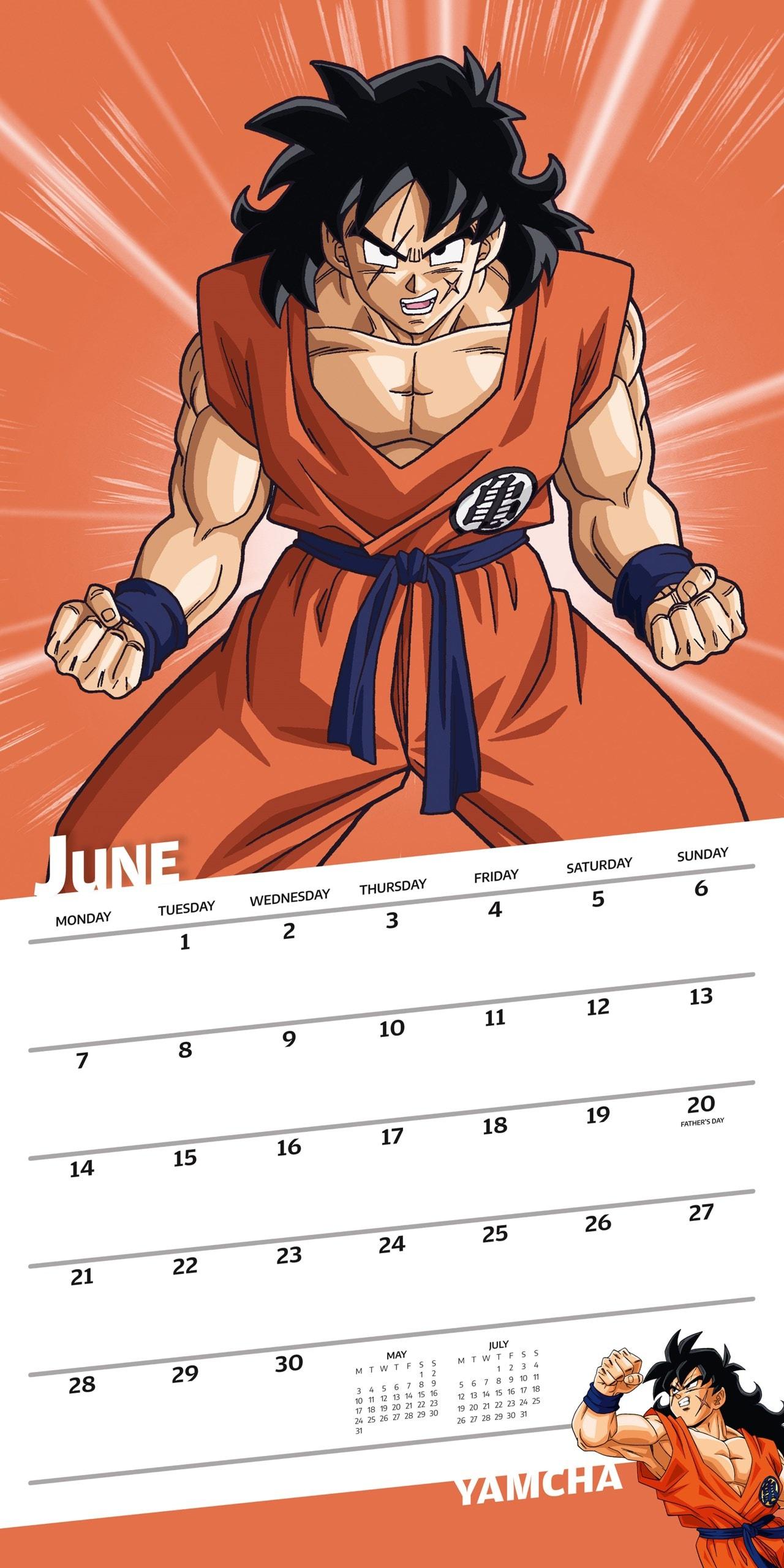 Dragon Ball Z: Square 2021 Calendar - 2