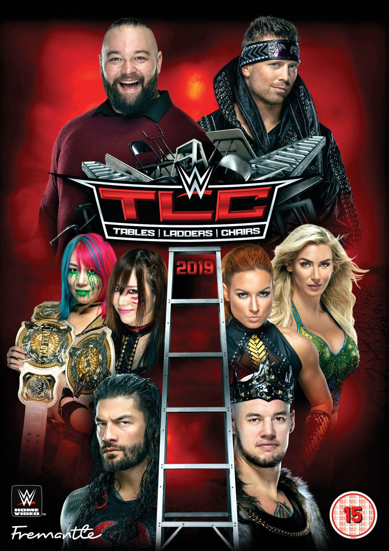 WWE: TLC - Tables/Ladders/Chairs 2019 - 1