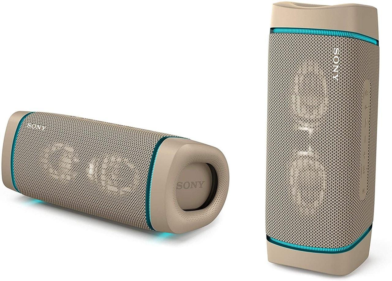 Sony SRSXB33 Cream Bluetooth Speaker - 2