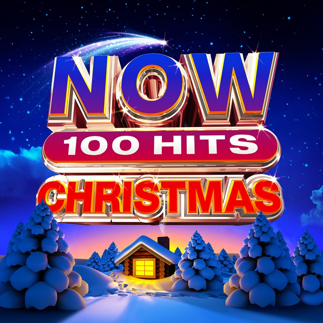 Now Christmas 2020 Hmv NOW 100 Hits: Christmas | Free shipping over £20   HMV Store