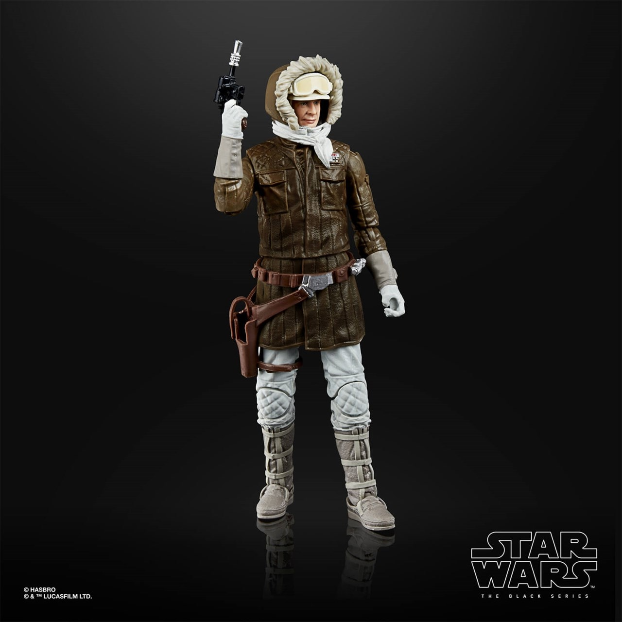 Han Solo (Hoth): Black Series Archive: Star Wars Action Figure - 3
