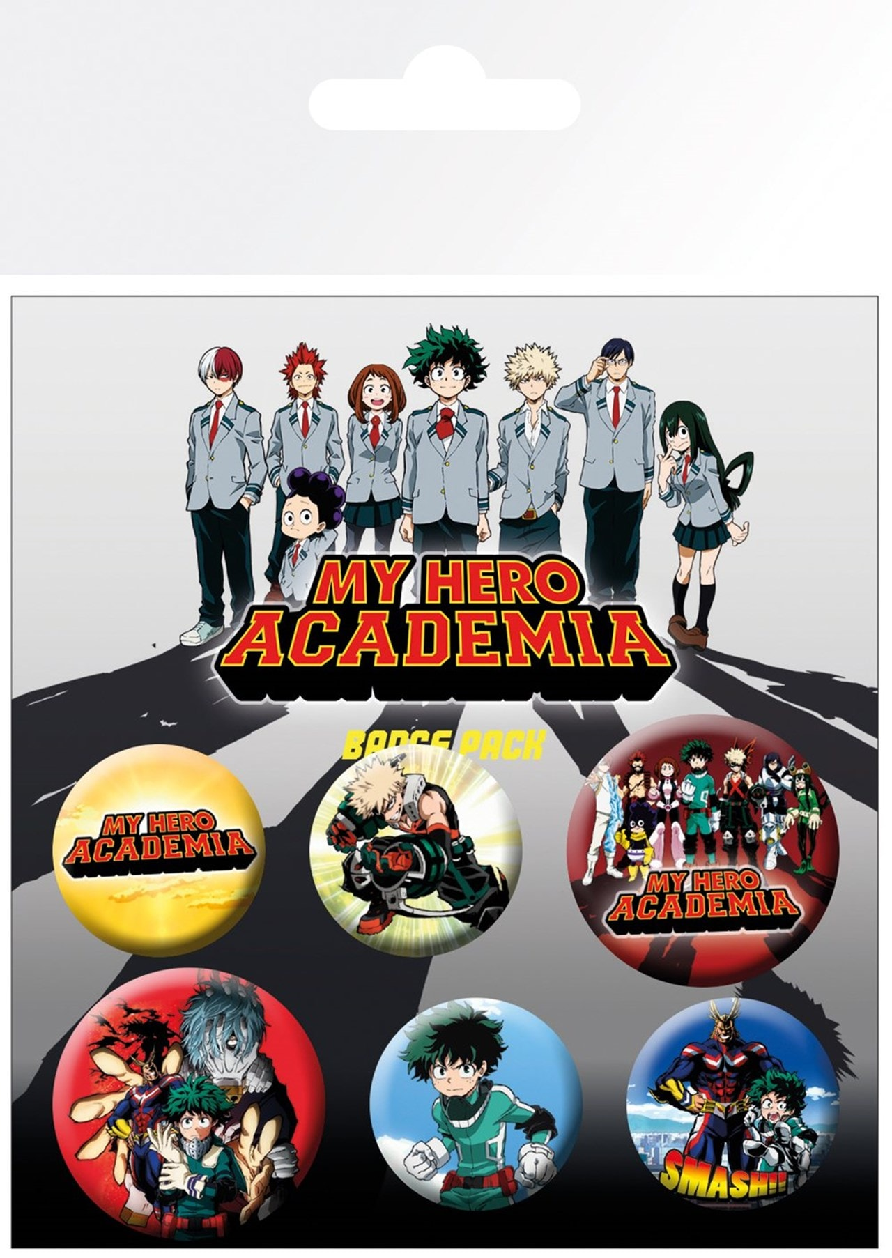My Hero Academia: Mix Badge Pack - 1