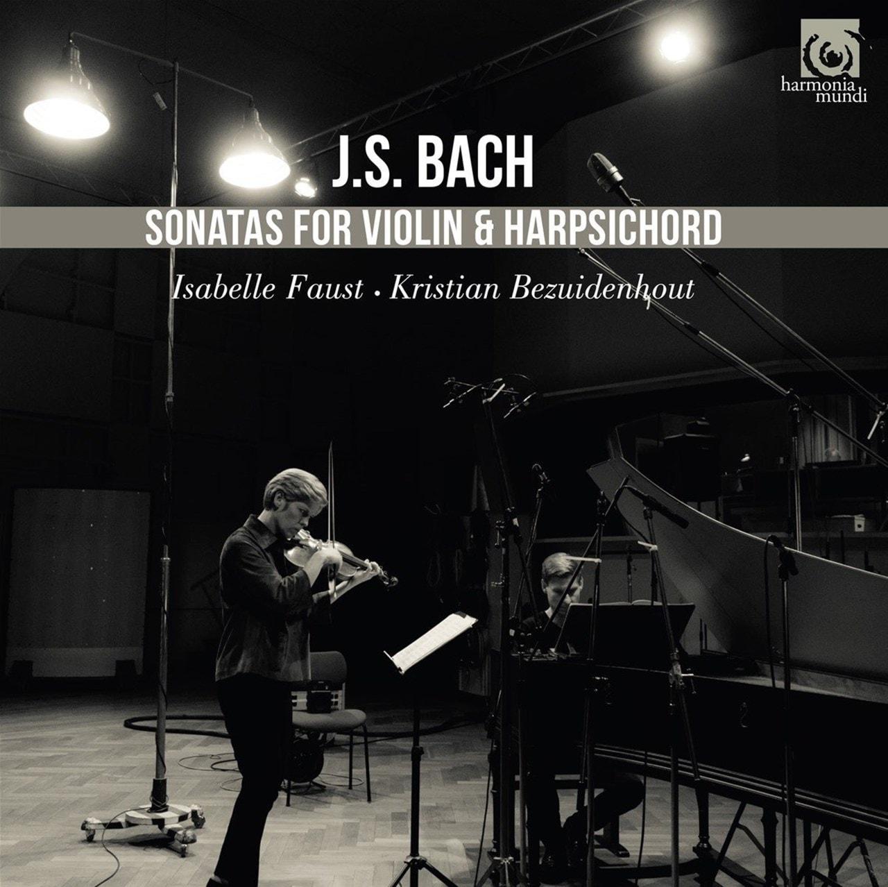 J.S. Bach: Sonatas for Violin & Harpsichord - 1