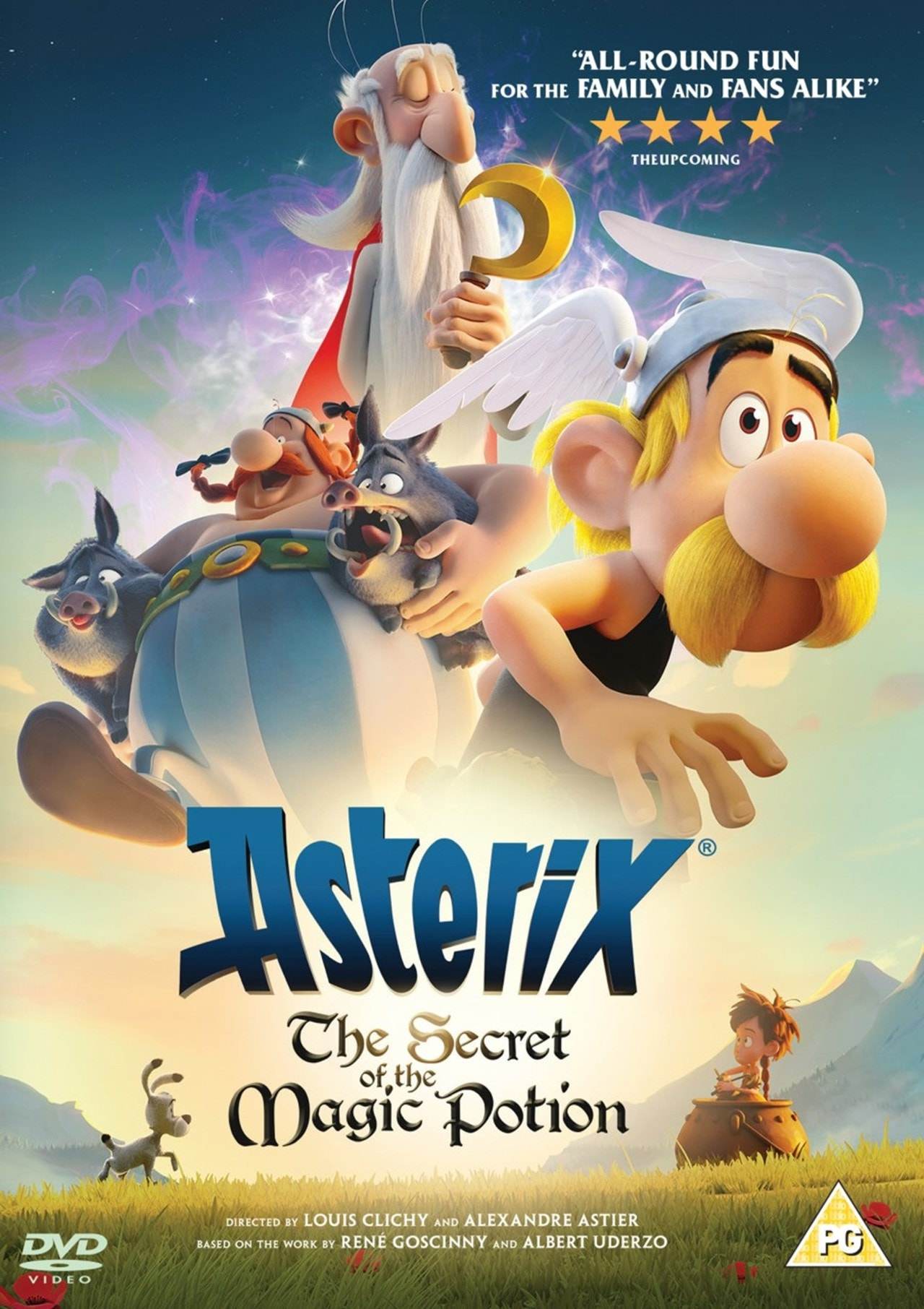 Asterix: The Secret of the Magic Potion - 1