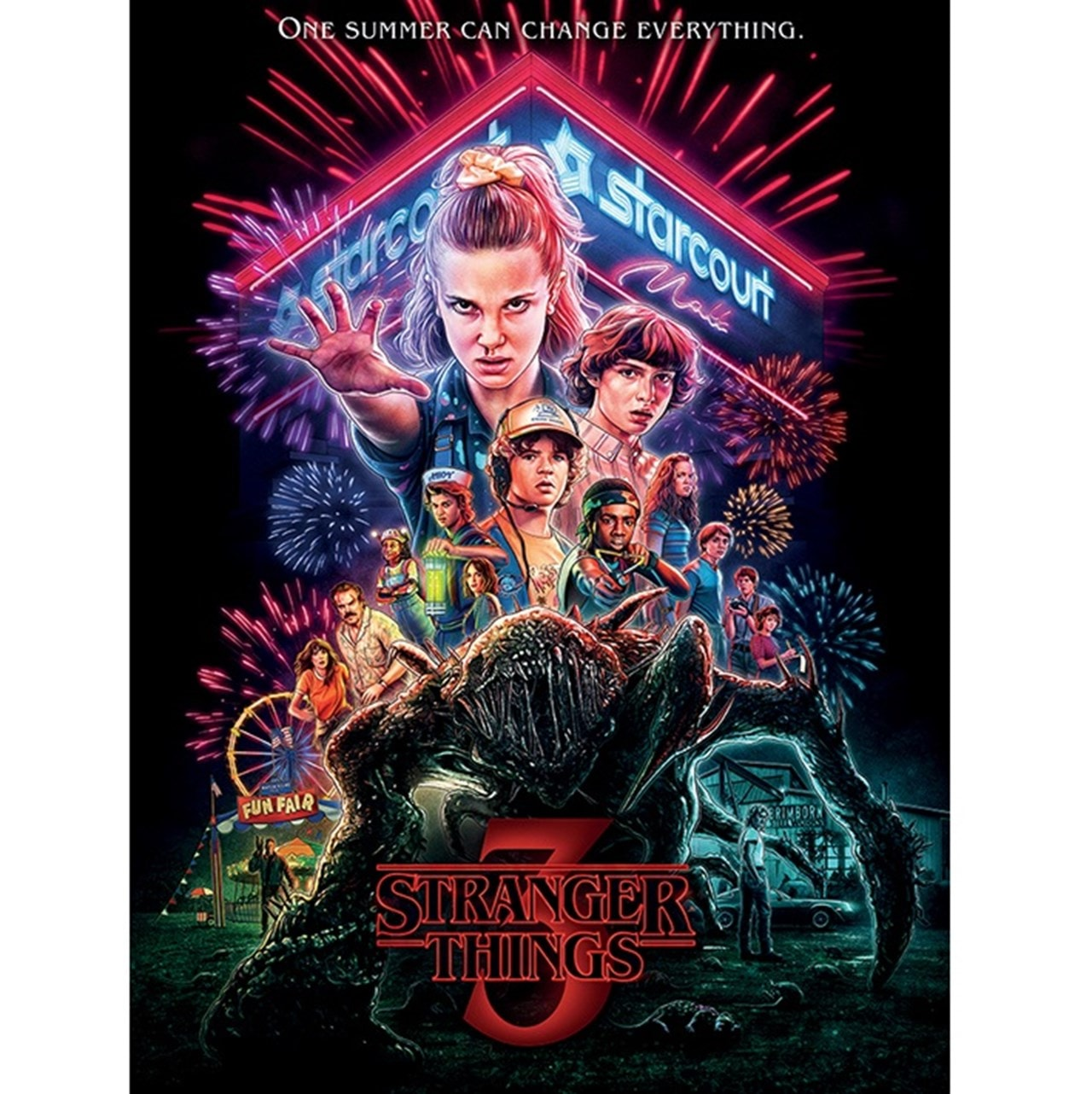 Stranger Things: Summer Of '85 Canvas Print - 1