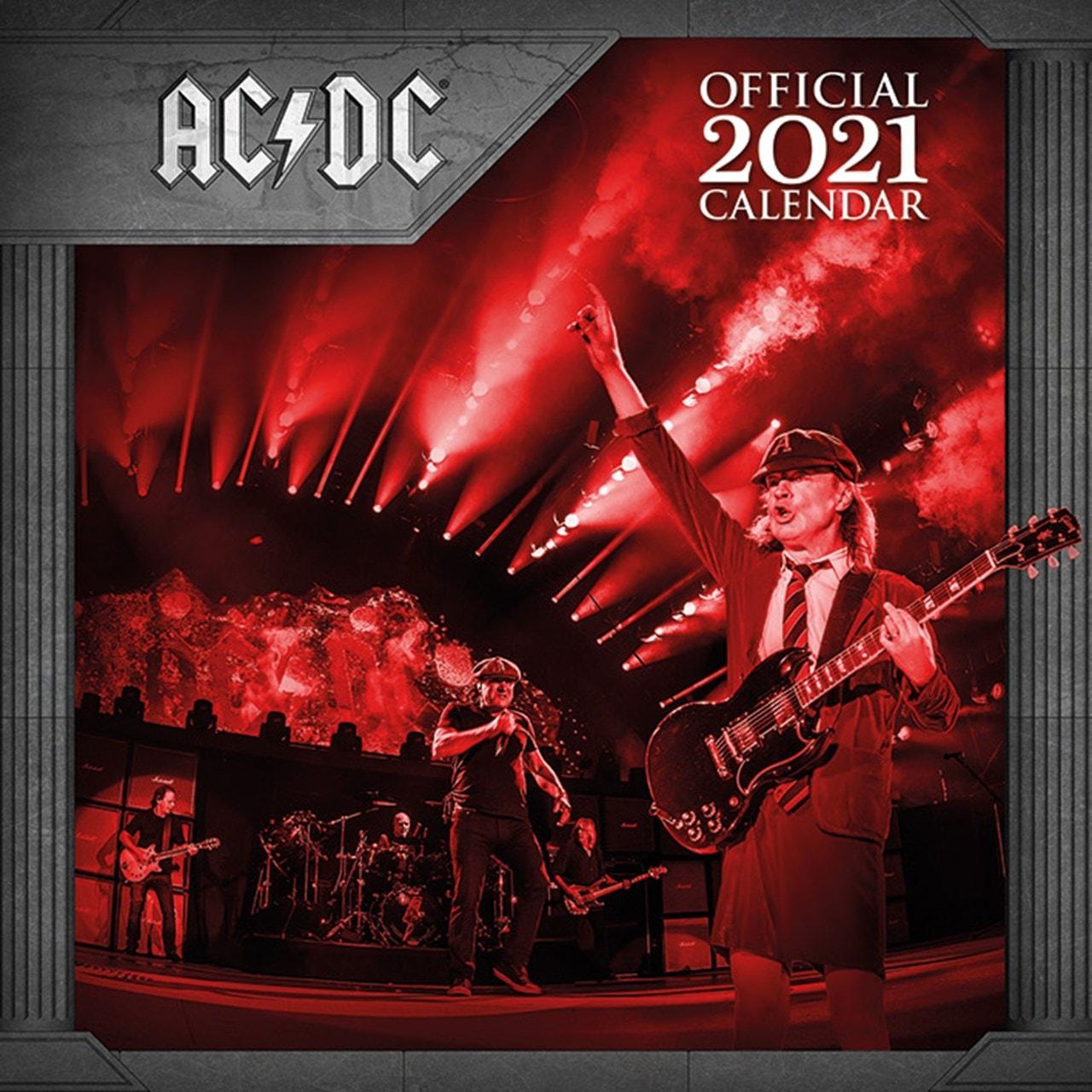 AC/DC Square 2021 Calendar - 1
