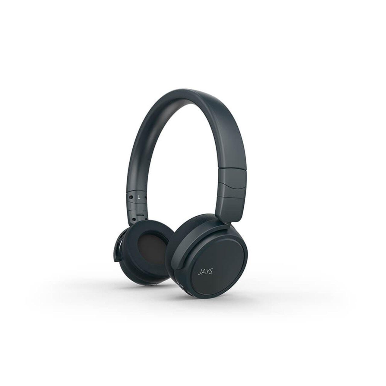 Jays X-Five Blue Bluetooth Headphones - 1