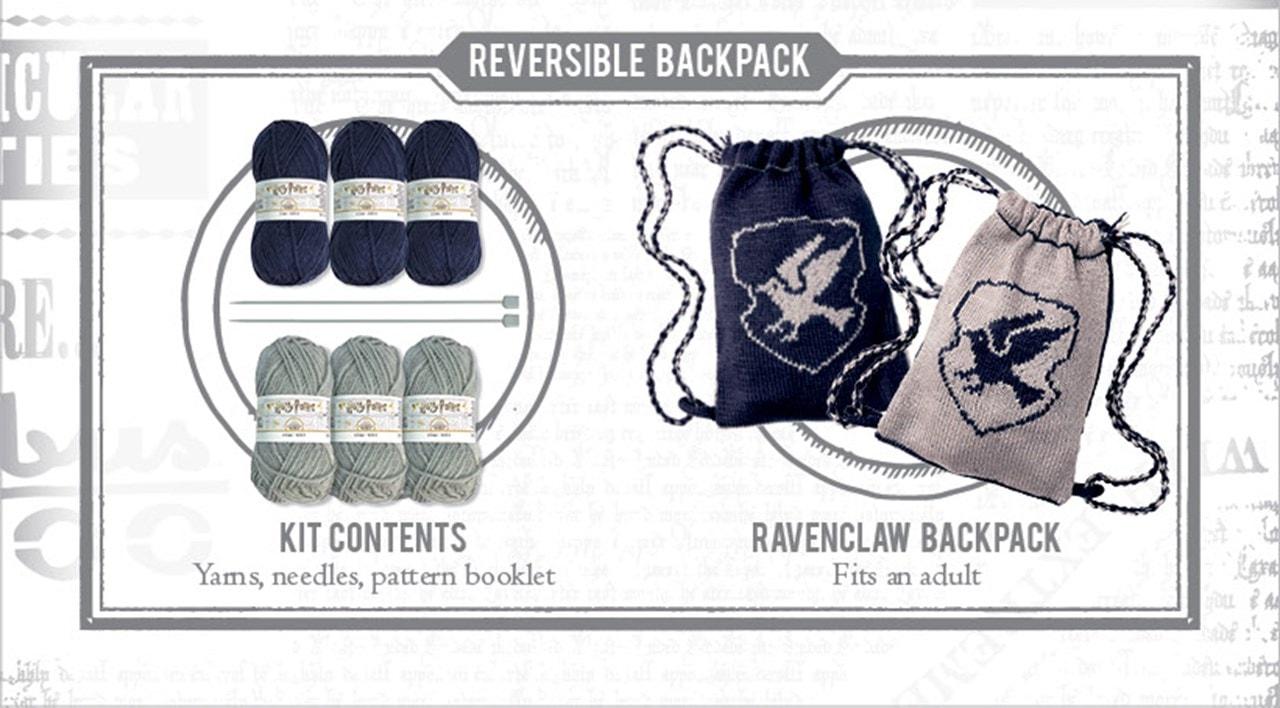 Ravenclaw House Kit Bag: Harry Potter Knit Kit - 2