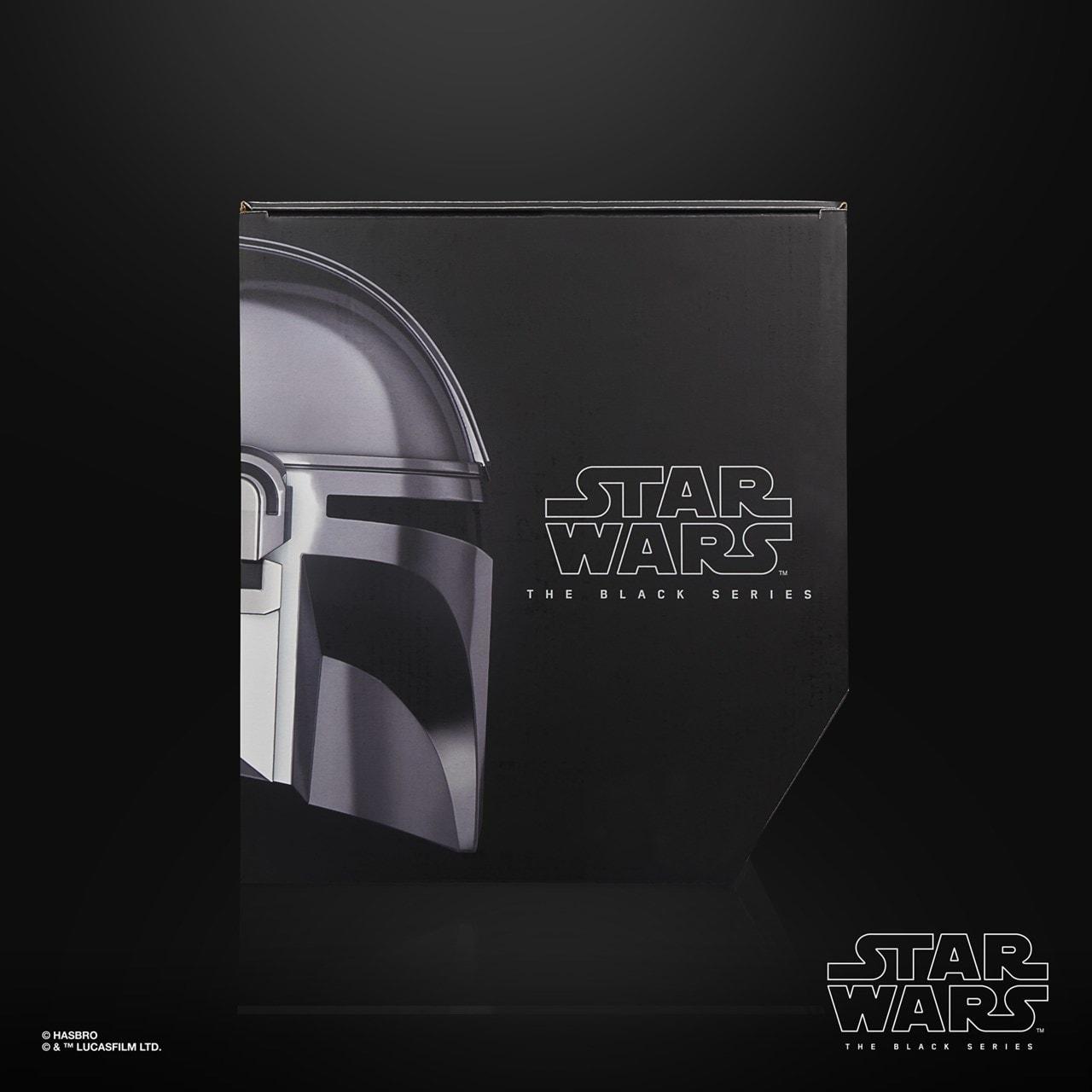 The Mandalorian Electronic Helmet: Star Wars Black Series - 5