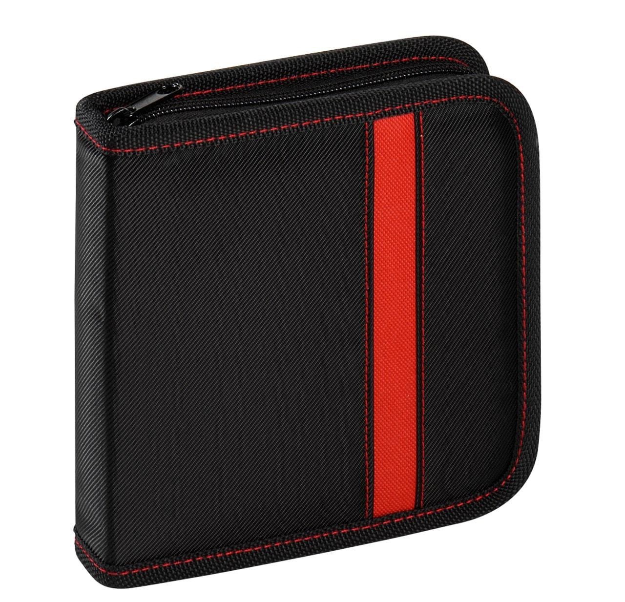 Vivanco 24 CD Wallet Black/Red - 1