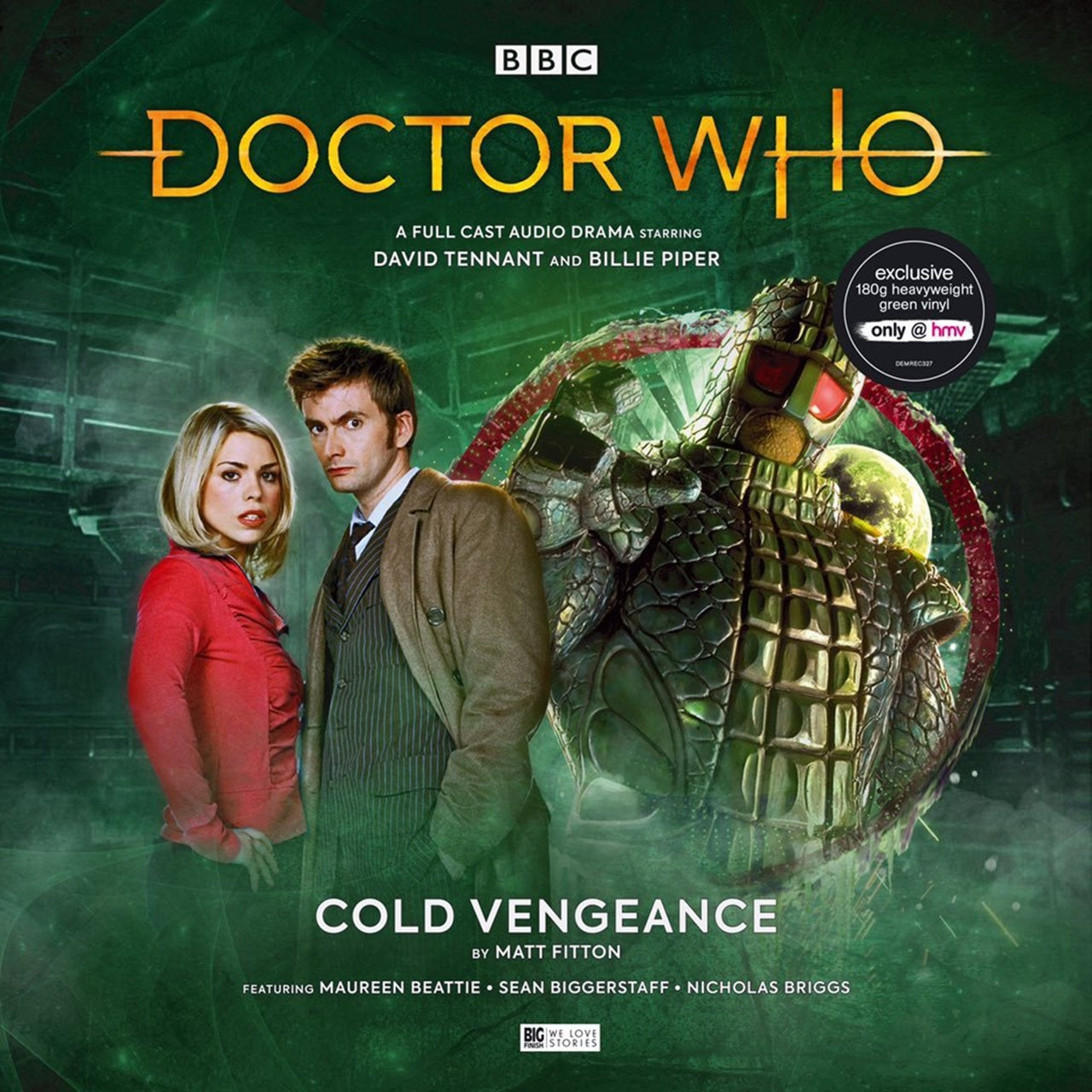 Doctor Who: Cold Vengeance (hmv Exclusive) Green Vinyl - 1