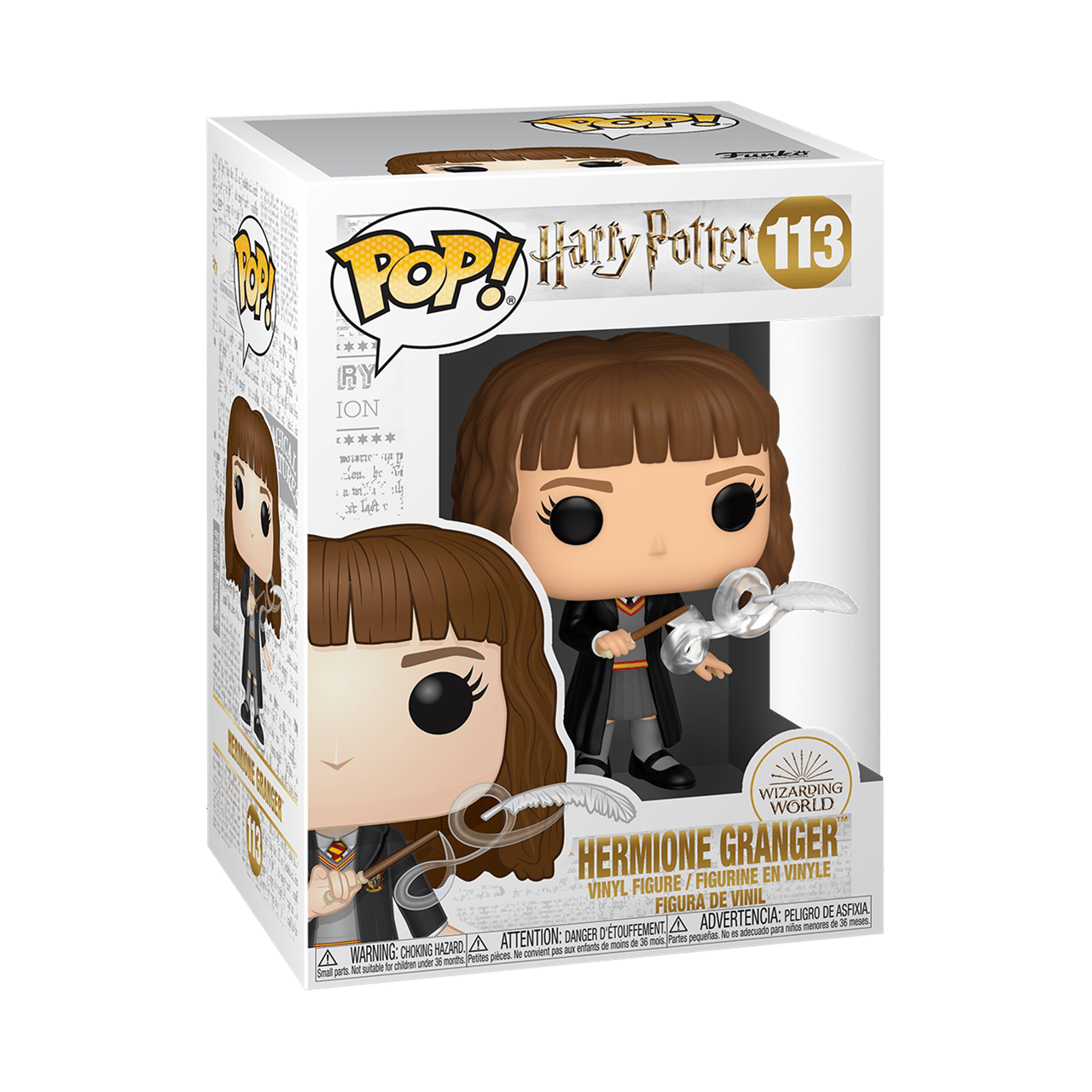 Hermione With Feather (113) Harry Potter Pop Vinyl - 2