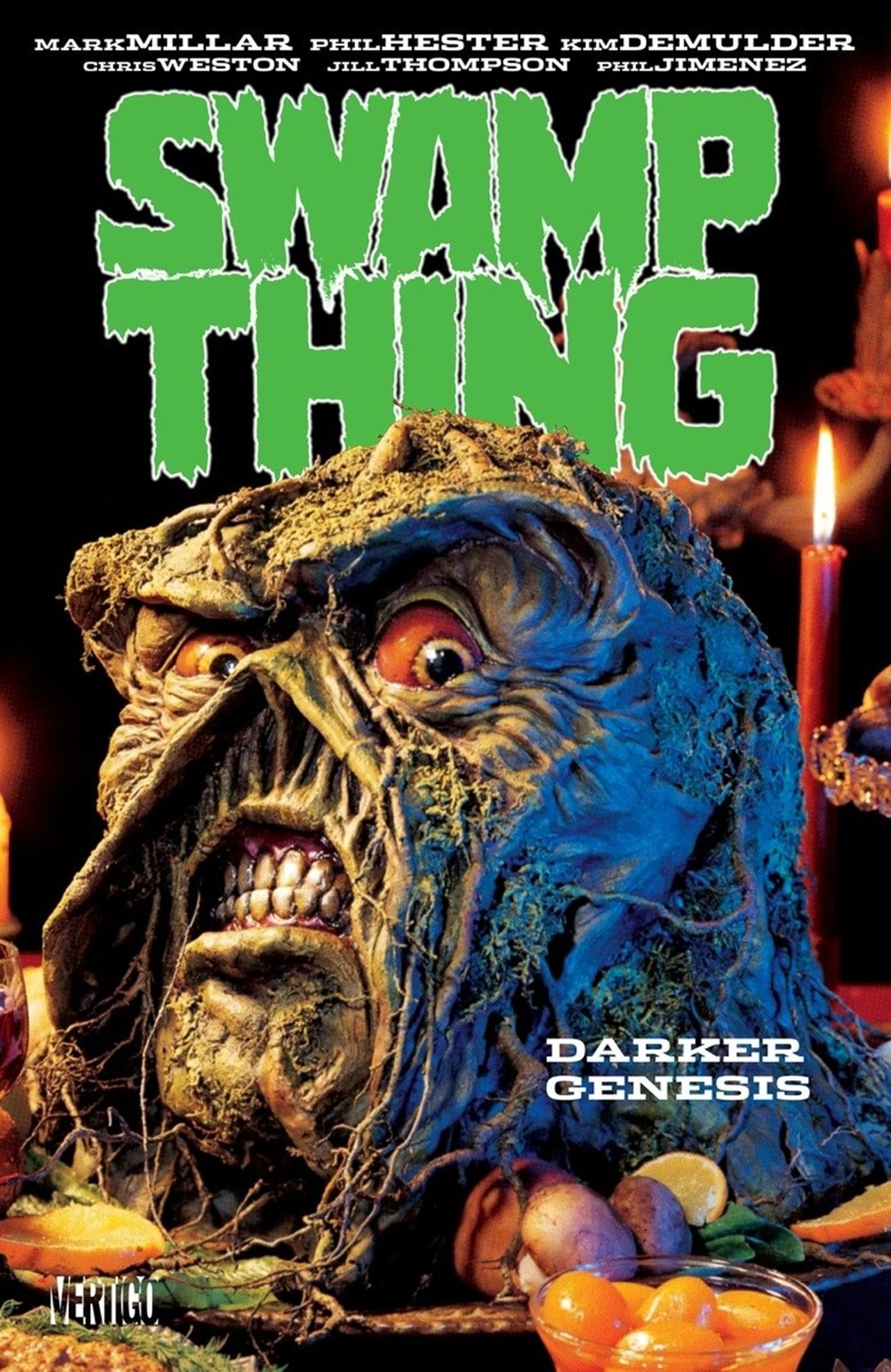 Swamp Thing: Darker Genesis - 1