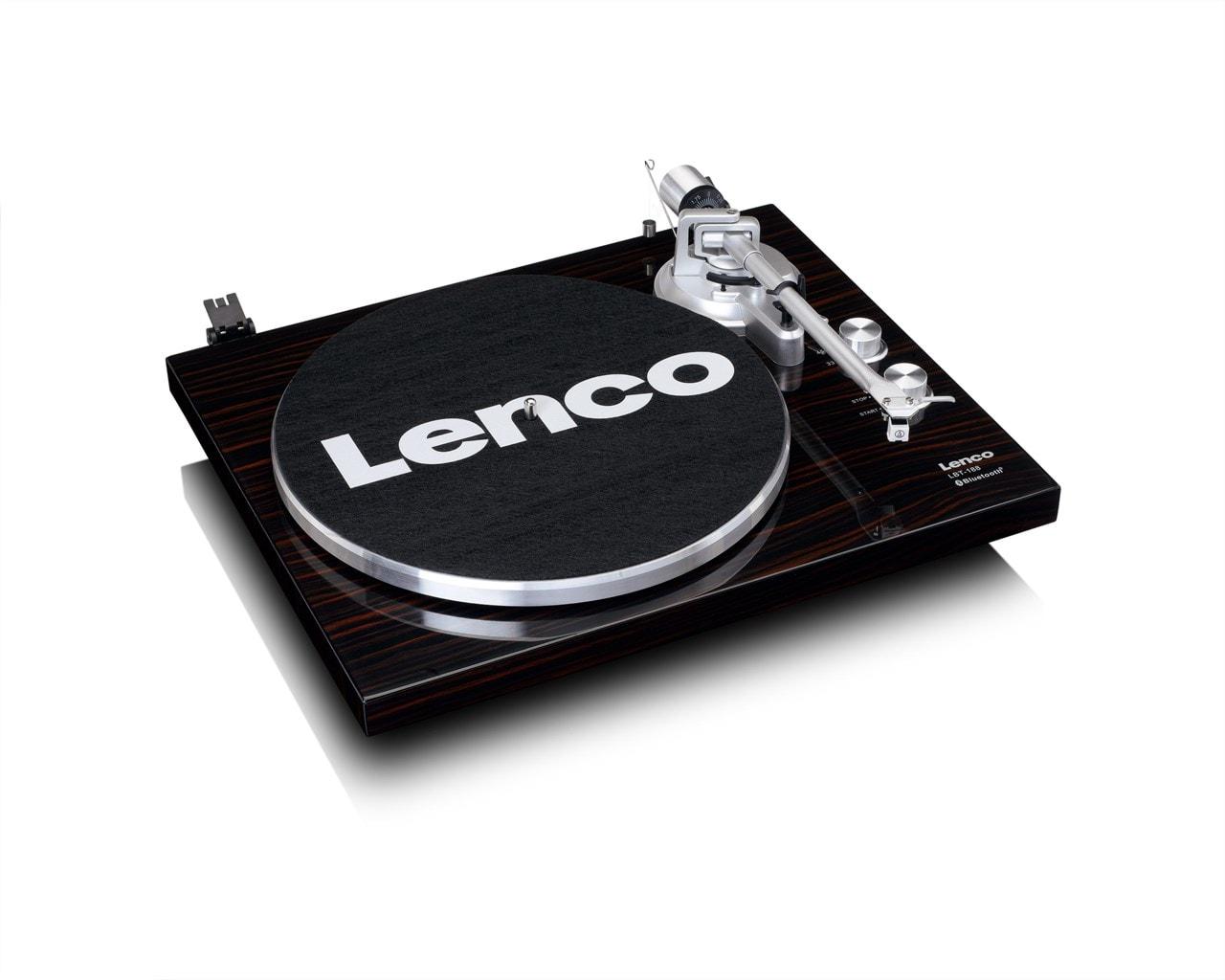 Lenco LBT-188 Walnut Bluetooth Turntable - 4