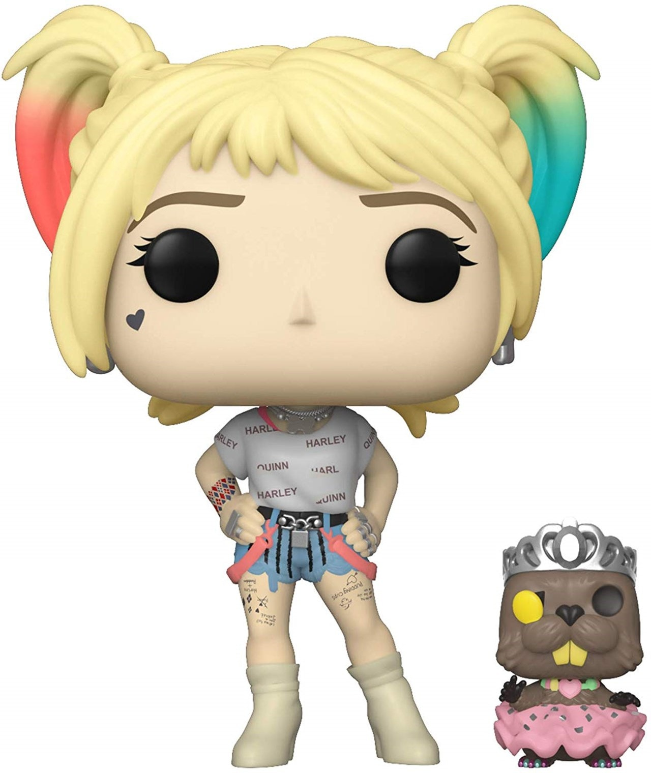 Pop Vinyl: Harley Quinn With Beaver (308): Birds Of Prey: DC - 1